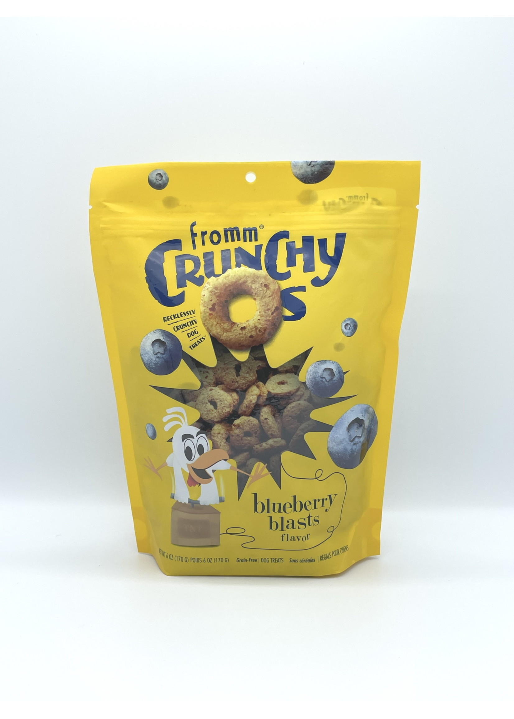 Fromm Fromm Crunch O's Blueberry Blast, 6oz Bag