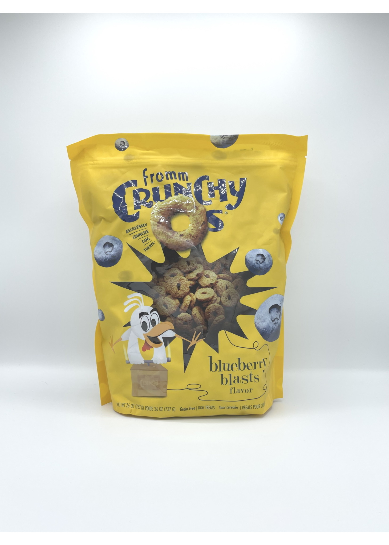 Fromm Fromm Crunchy O's Blueberry Blast, 26oz Bag