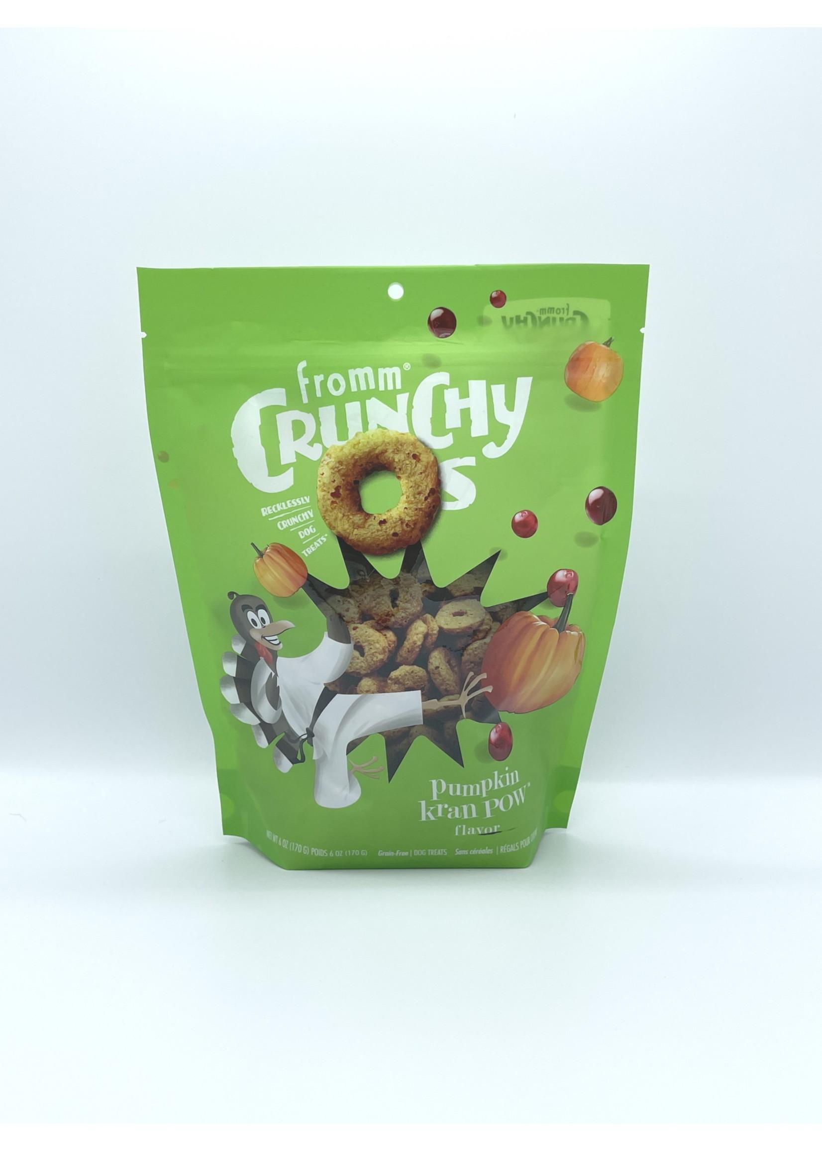 Fromm Fromm Crunchy O's Pumpkin Kran Pow, 6oz Bag