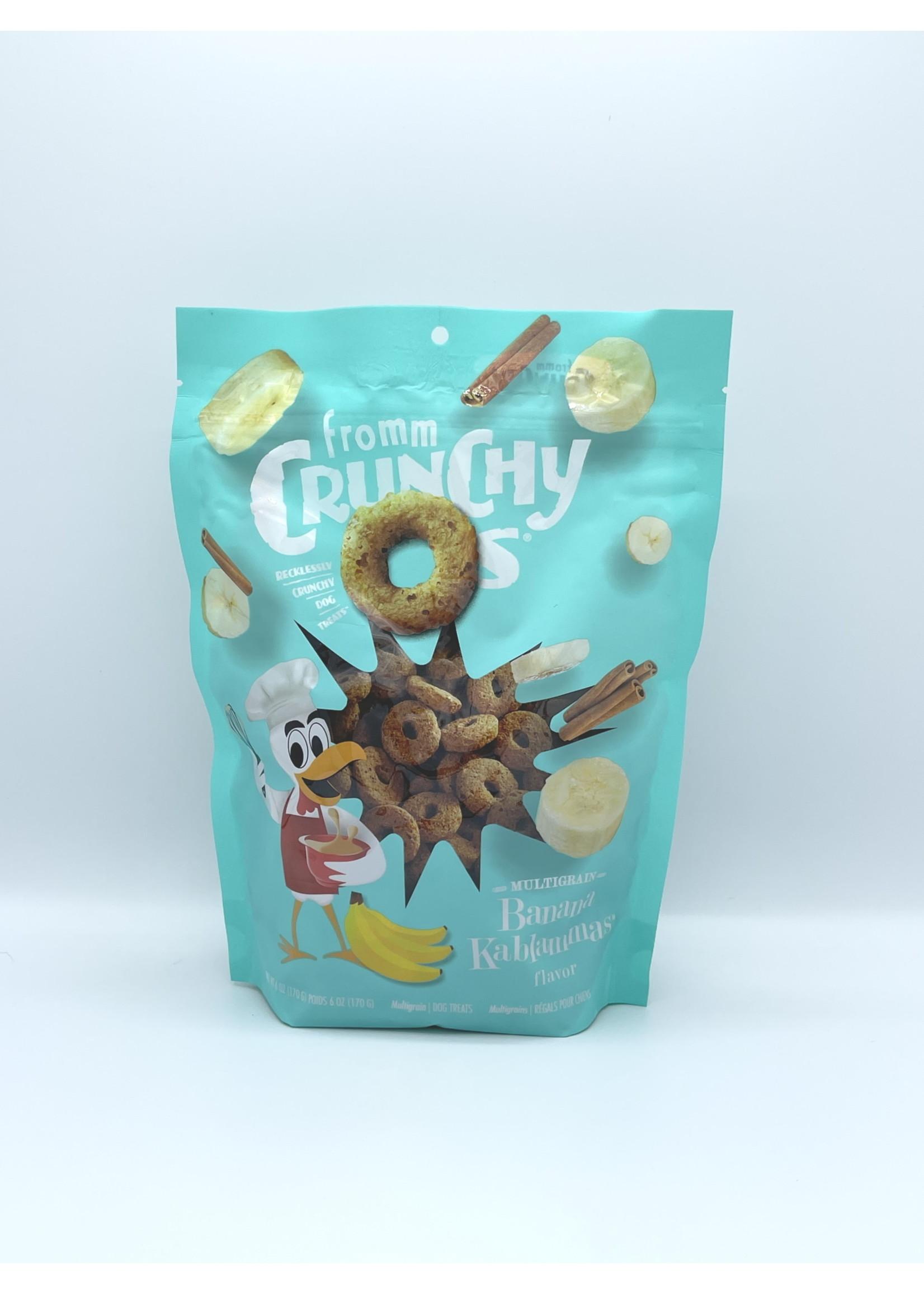 Fromm Fromm Crunchy O's Banana Kablammas, 6oz Bag