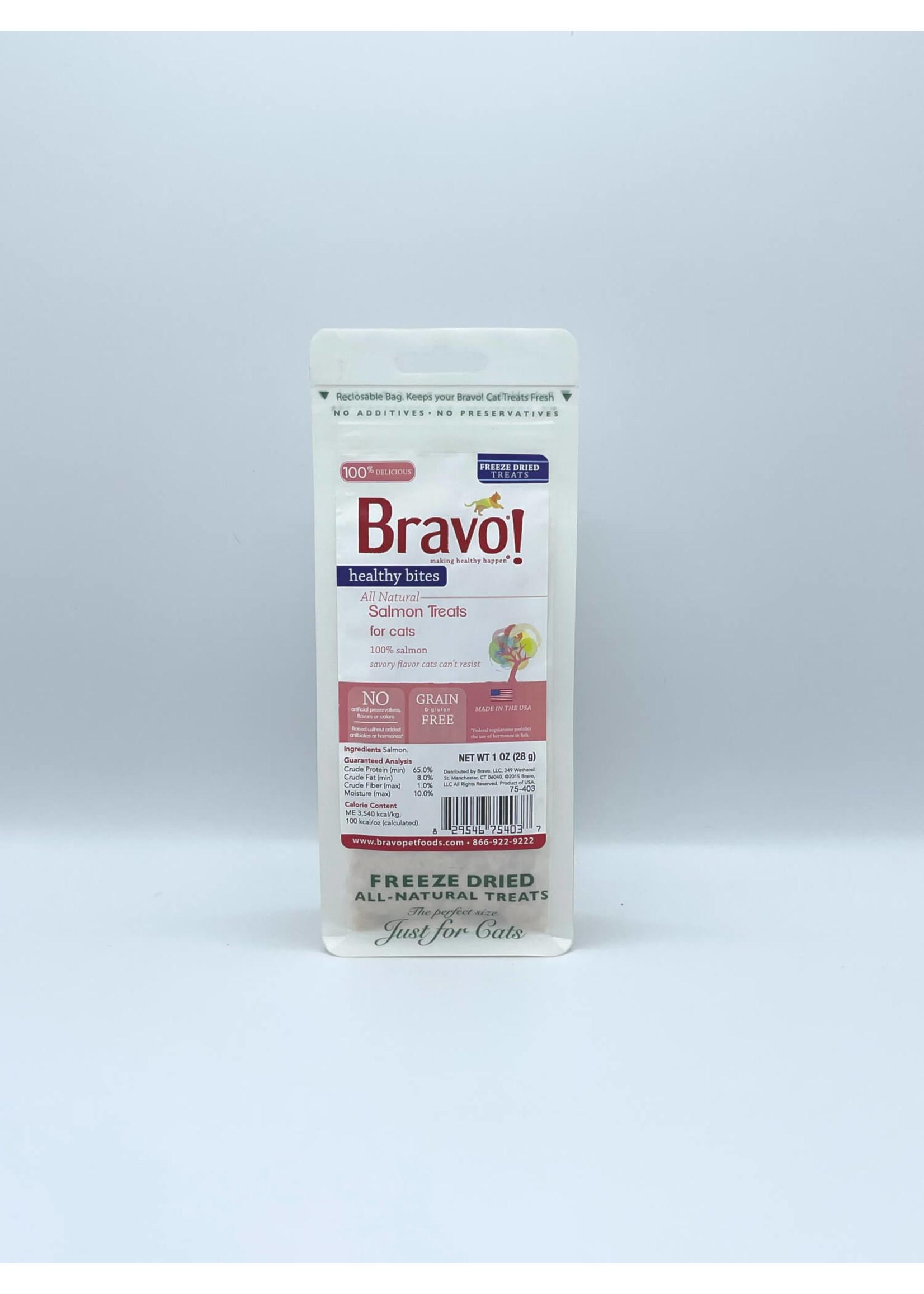 Bravo Bravo! Cat Salmon Bites
