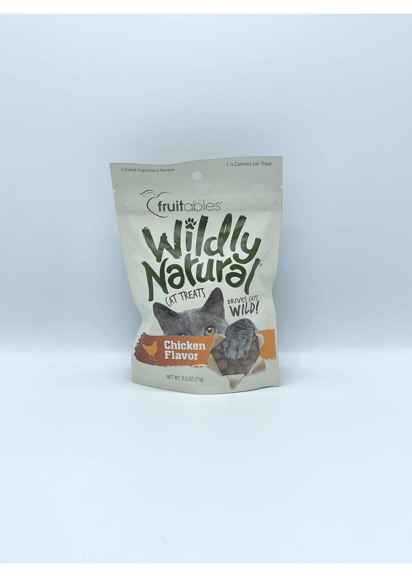 Fruitables Fruitables Wildly Natural Chicken Cat Treats