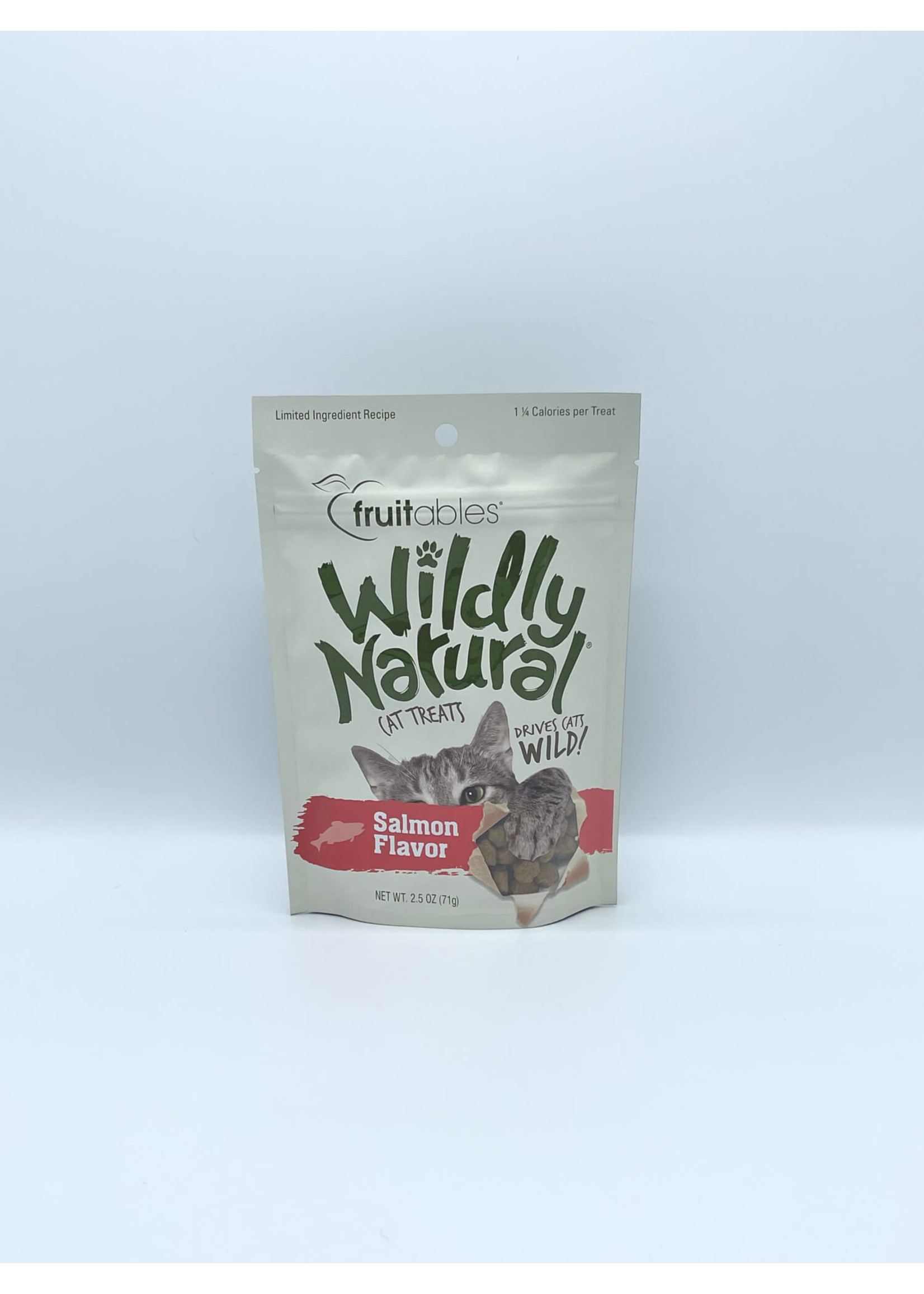 Fruitables Fruitables Wildly Natural Salmon Cat Treat
