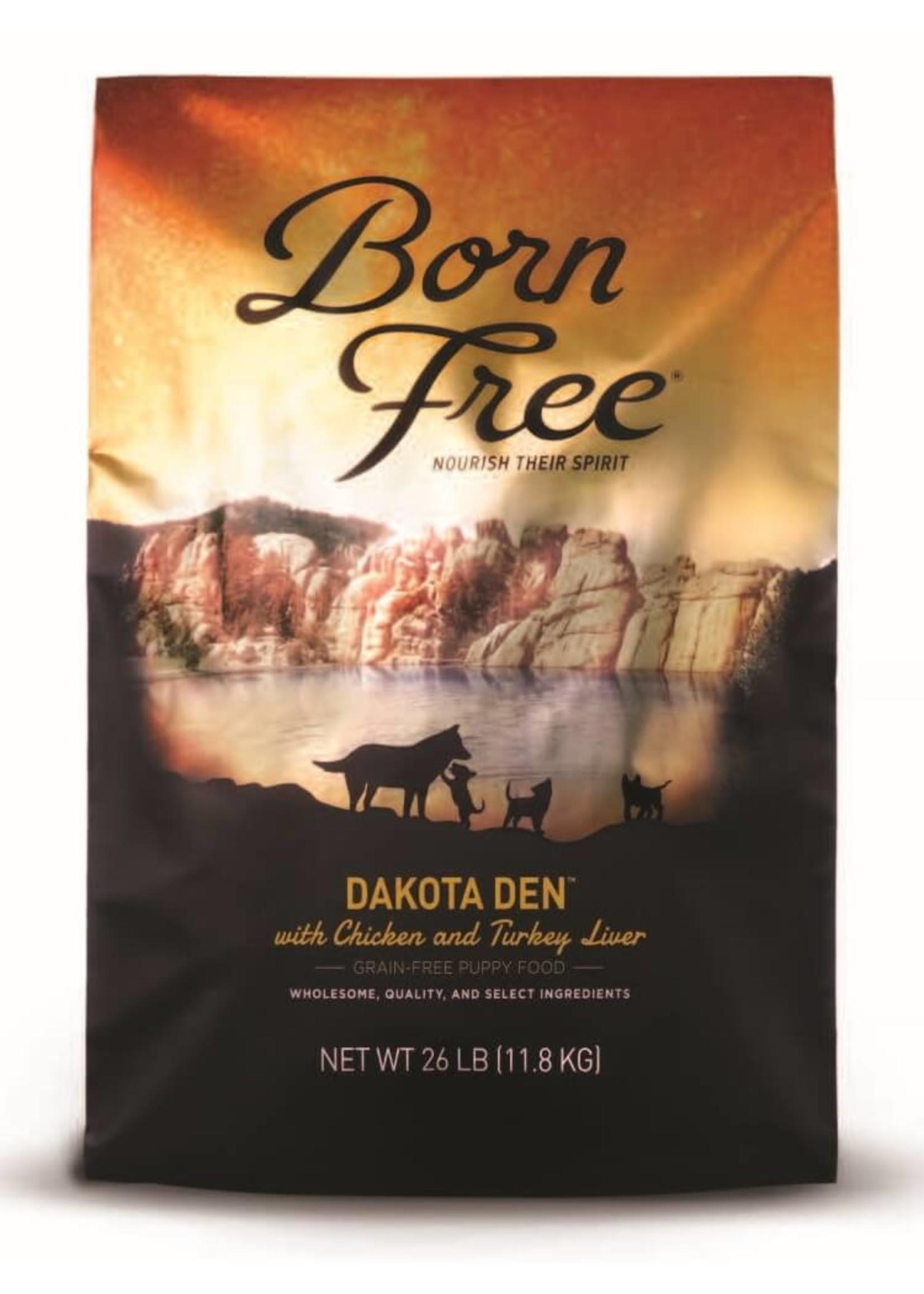 Born Free Born Free Puppy Food Dakota Den, 26lb Bag