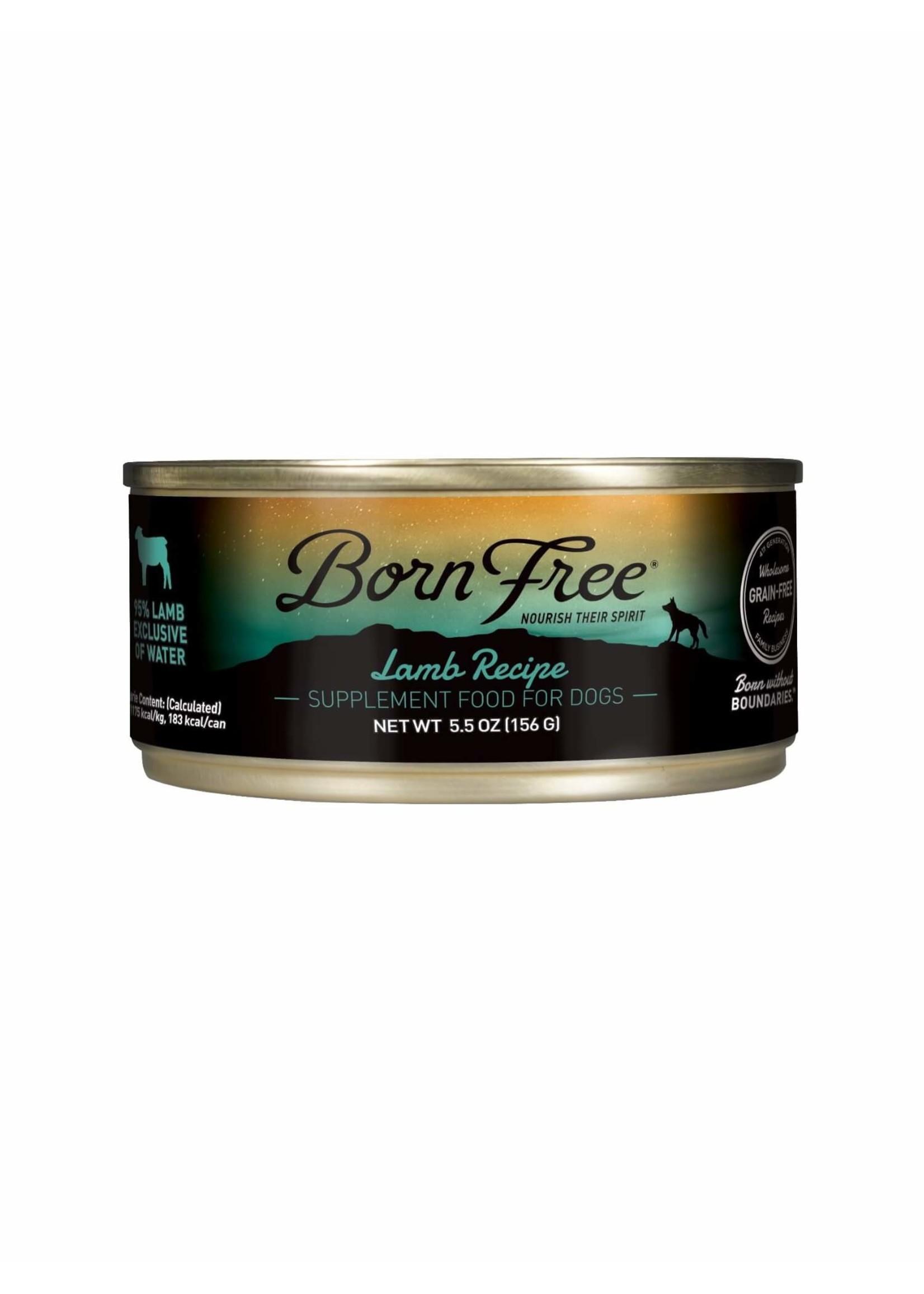 Born Free Born Free Lamb Recipe Wet Dog Food, 5.5oz Can
