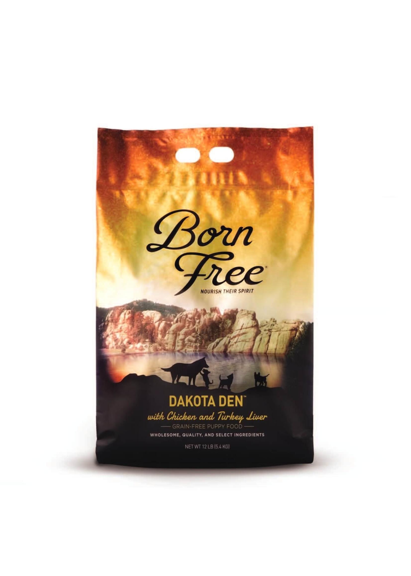 Born Free Born Free Puppy Dakota Den, 12lb Bag