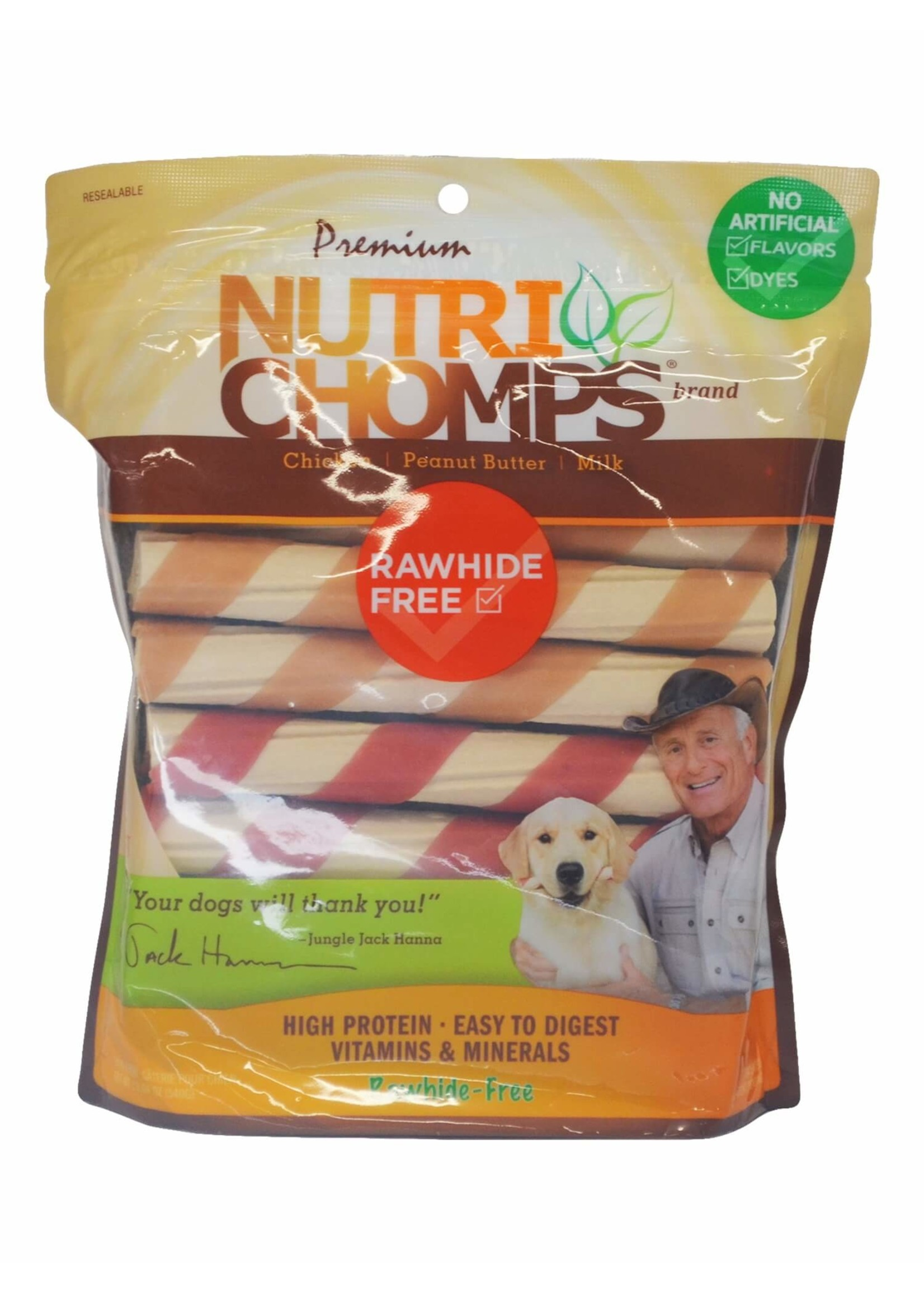 Nutri Chomps Nutri Chomps Assorted Twists with Wrap 12 ct