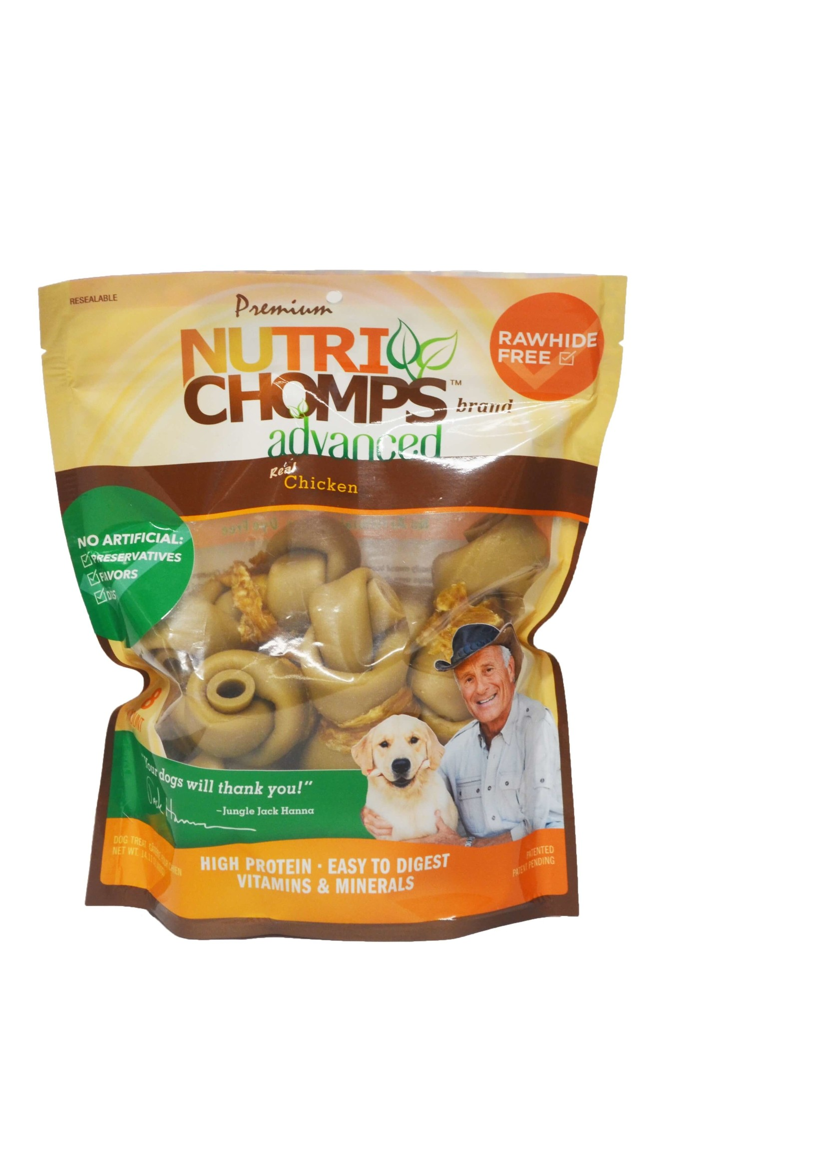 Nutri Chomps Nutri Chomps Chicken Knots Wrapped with Real Chicken