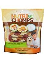 """Nutri Chomps Nutri Chomps Mixed Flavor 6"""" Braids, 10 Ct"""