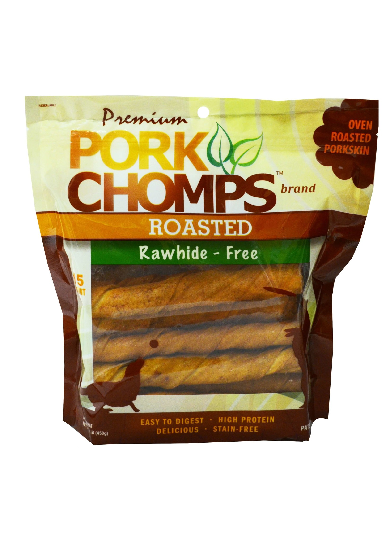 Pork Chomps Pork Chomps Roasted Twistz, 15ct