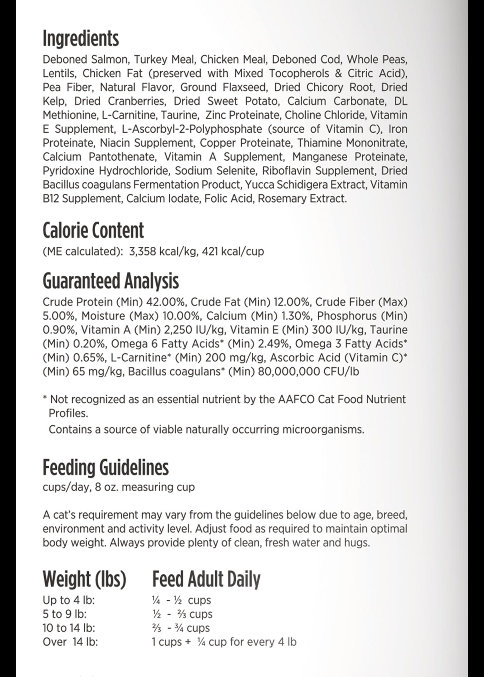 Nulo Nulo FreeStyle Grain Free Adult Trim Cat Food Salmon & Lentils, 5lb Bag