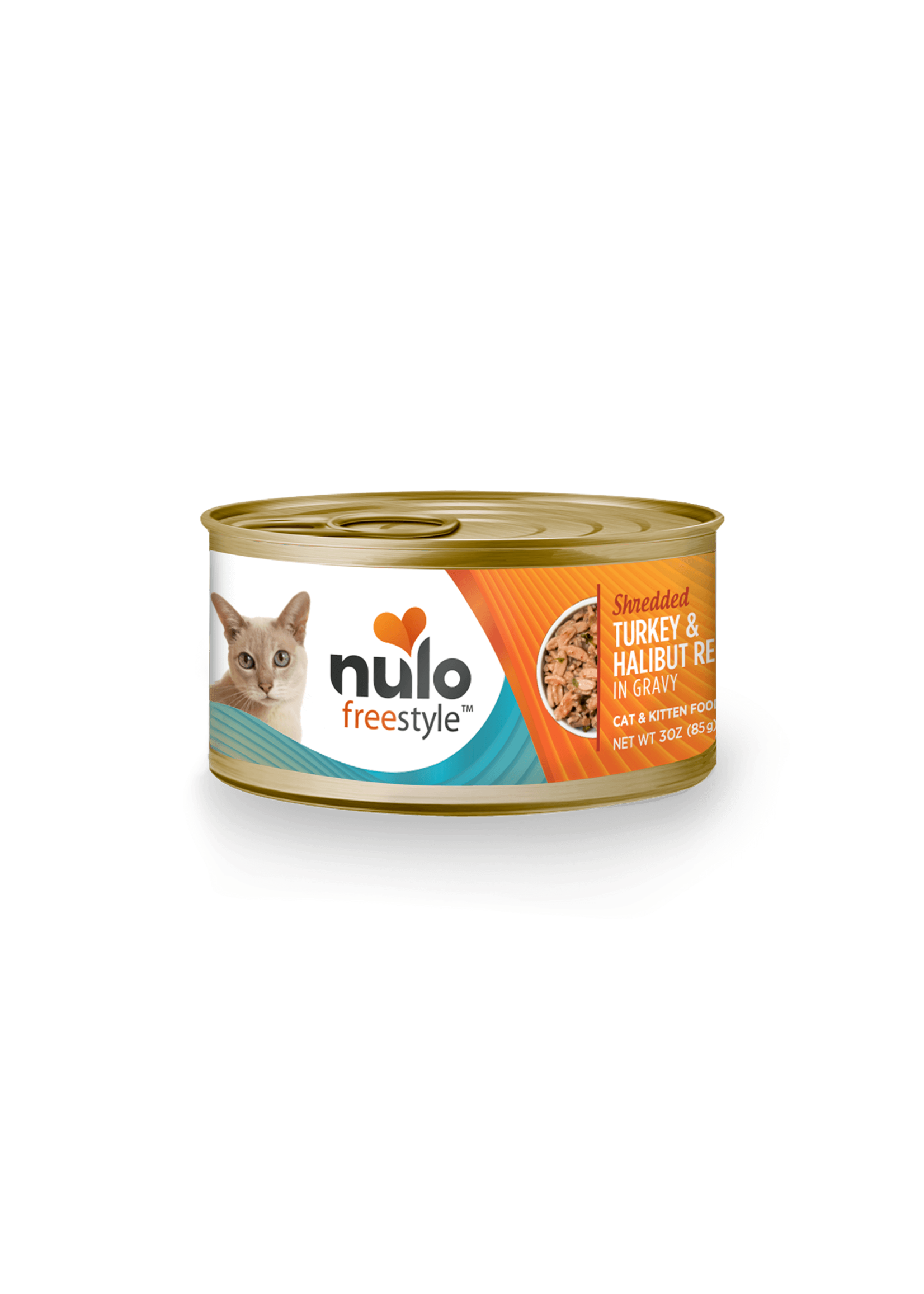 Nulo Nulo FreeStyle Wet Cat Food Shredded Turkey & Halibut in Gravy