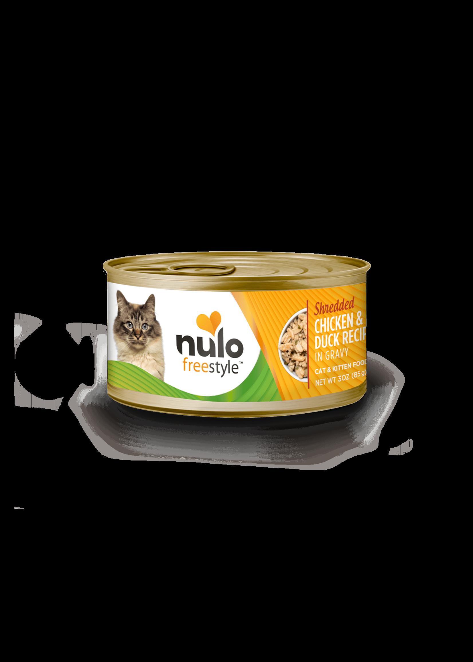Nulo Nulo FreeStyle Wet Cat Food Shredded Chicken & Duck in Gravy