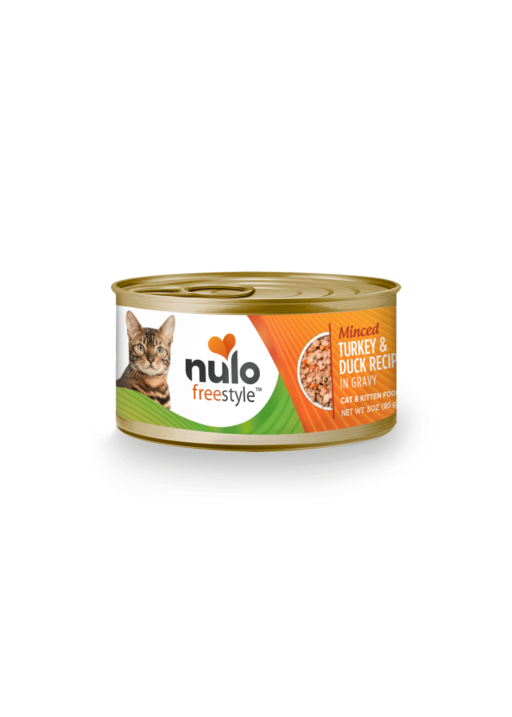 Nulo Nulo FreeStyle Cat Wet Food Minced Turkey & Duck in Gravy