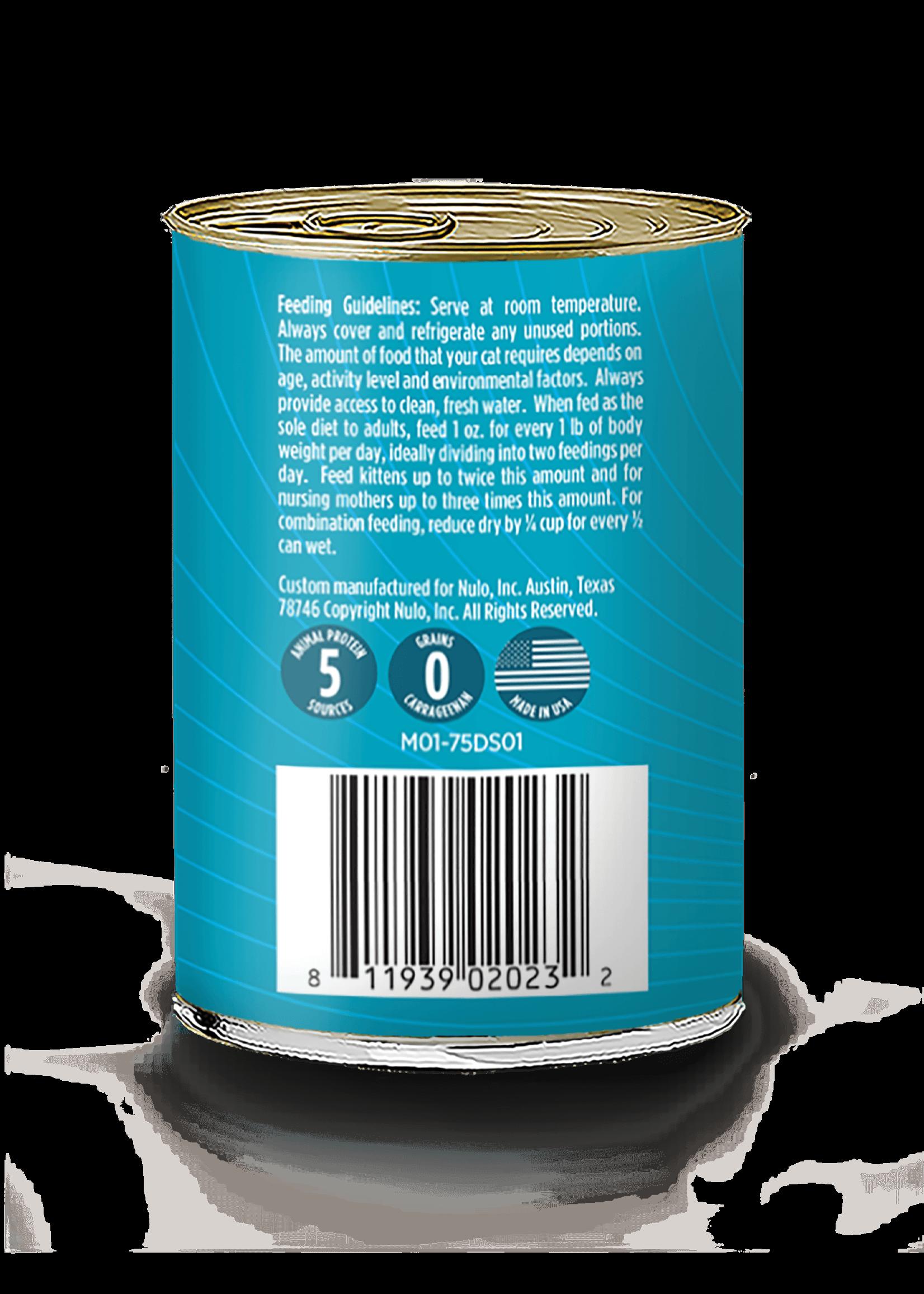 Nulo Nulo FreeStyle Grain Free Cat Food Salmon & Mackerel, 12.5oz Can