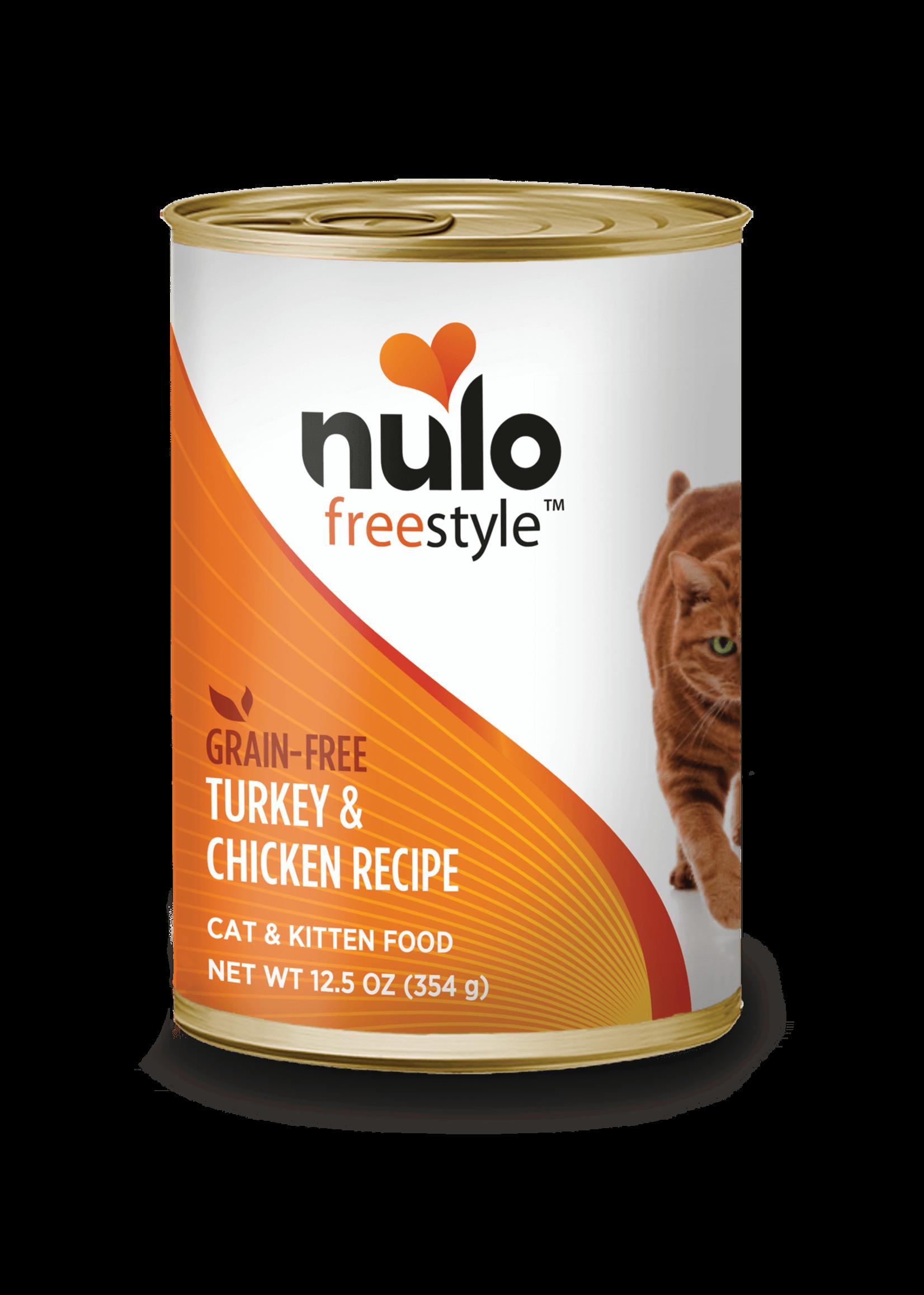 Nulo Nulo FreeStyle Grain Free Cat Food Turkey & Chicken, 12.5oz Can