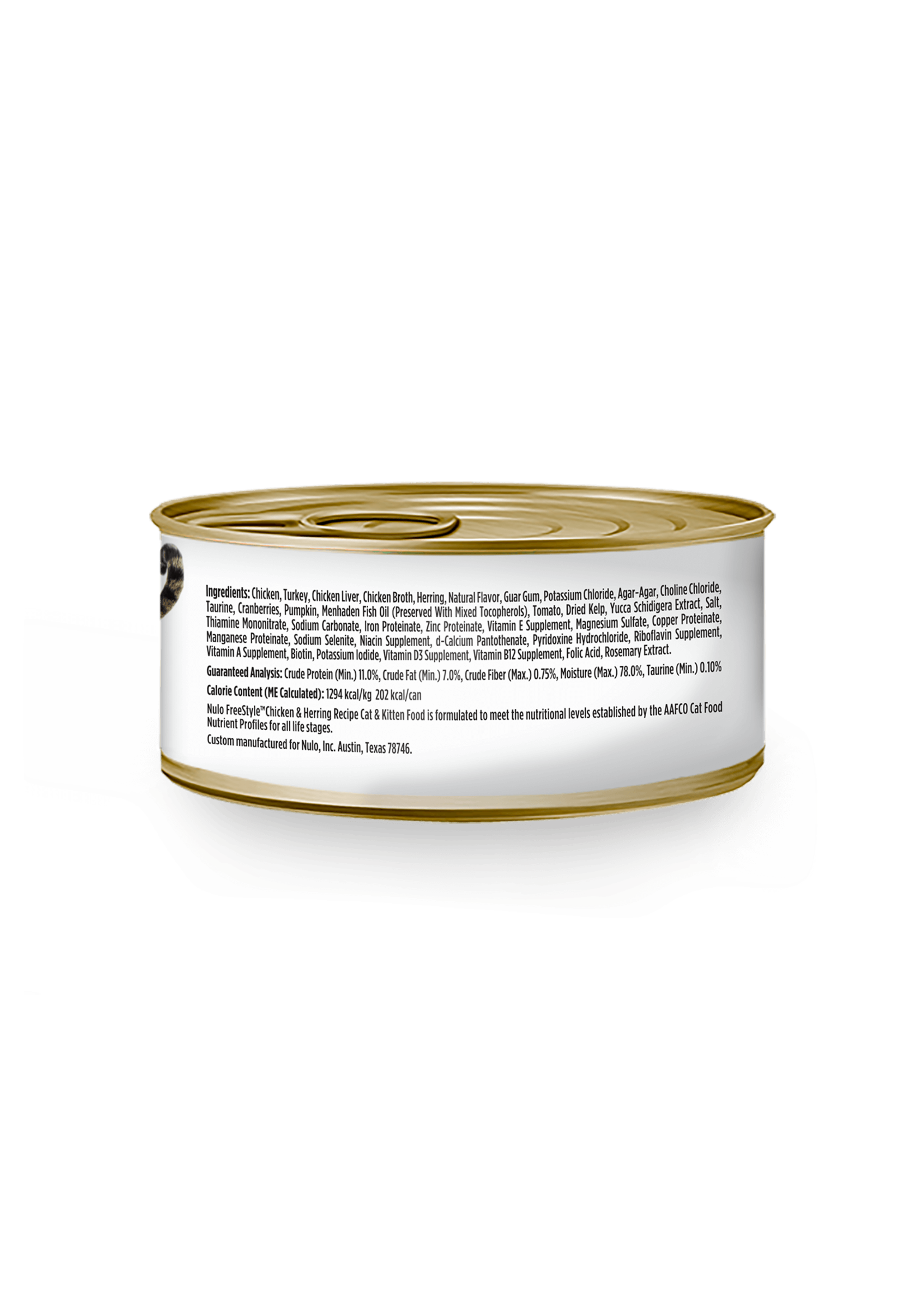 Nulo Nulo FreeStyle Grain Free Cat Chicken & Herring, 5.5oz Can