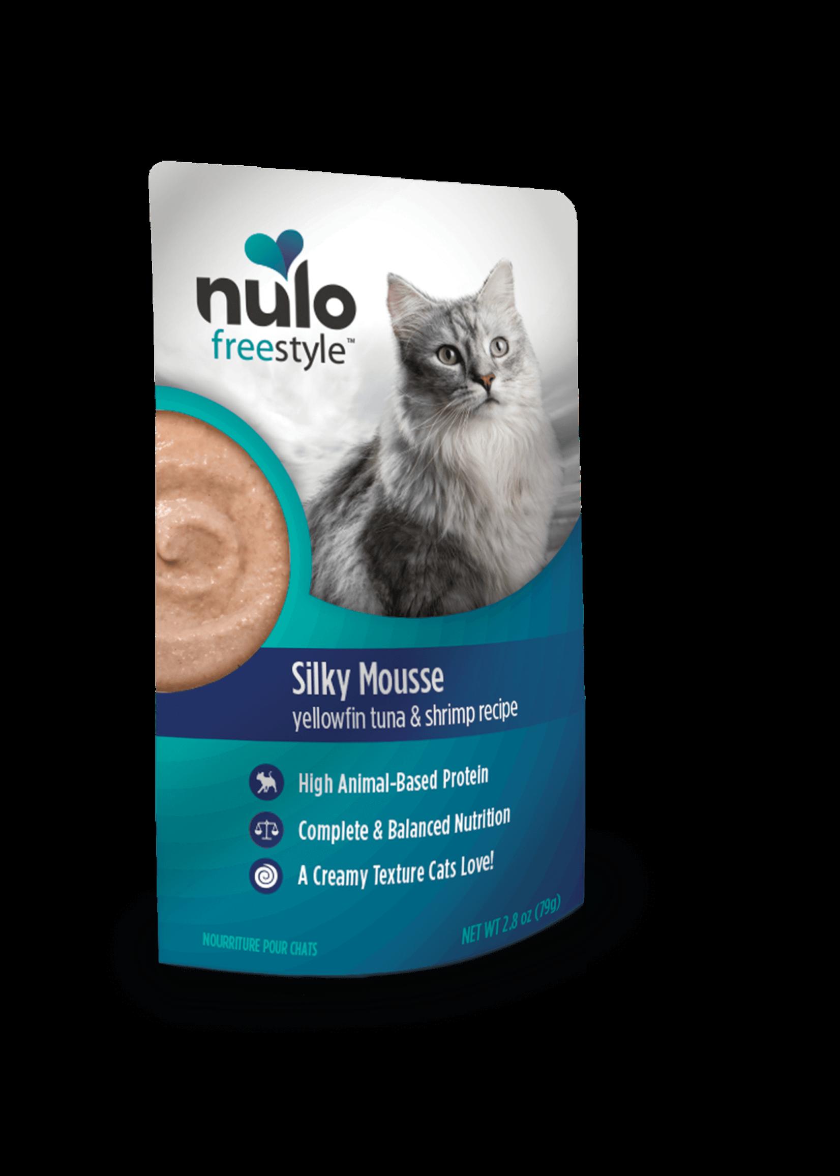 Nulo Nulo FreeStyle Grain Free Cat Silky Mousse Yellowfin Tuna & Shrimp