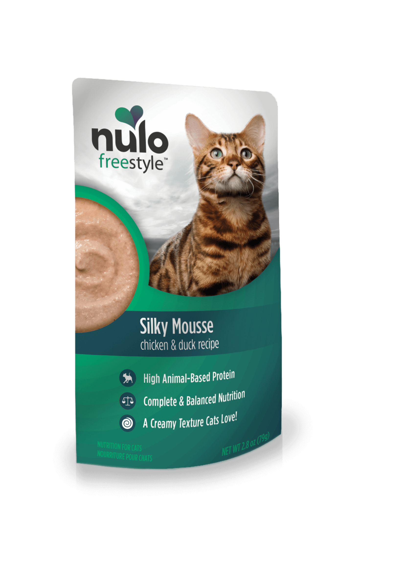 Nulo Nulo FreeStyle Grain Free Cat Silky Mousse Chicken & Duck