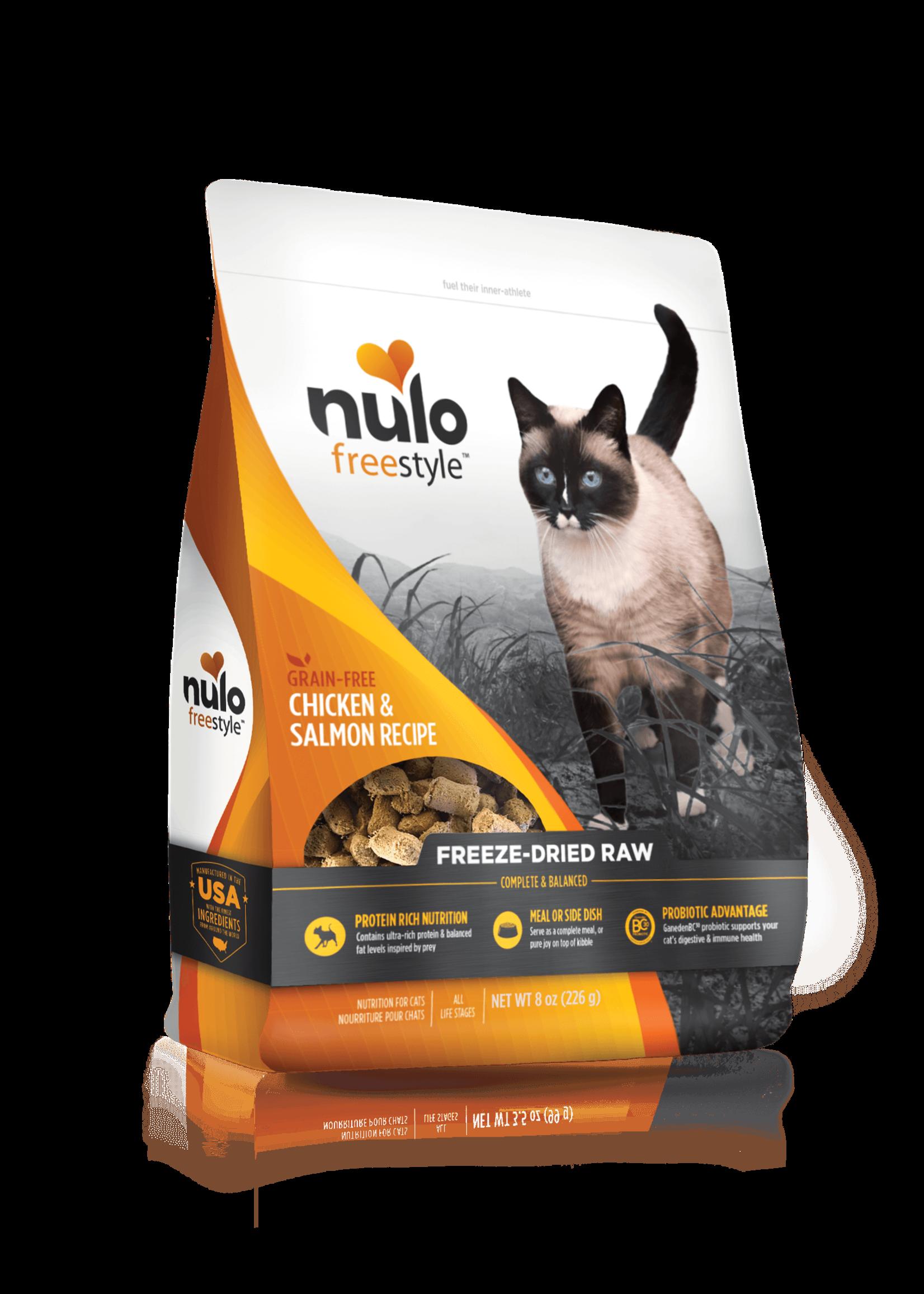 Nulo Nulo FreeStyle Grain Free Cat Freeze Dried Chicken & Salmon, 8oz