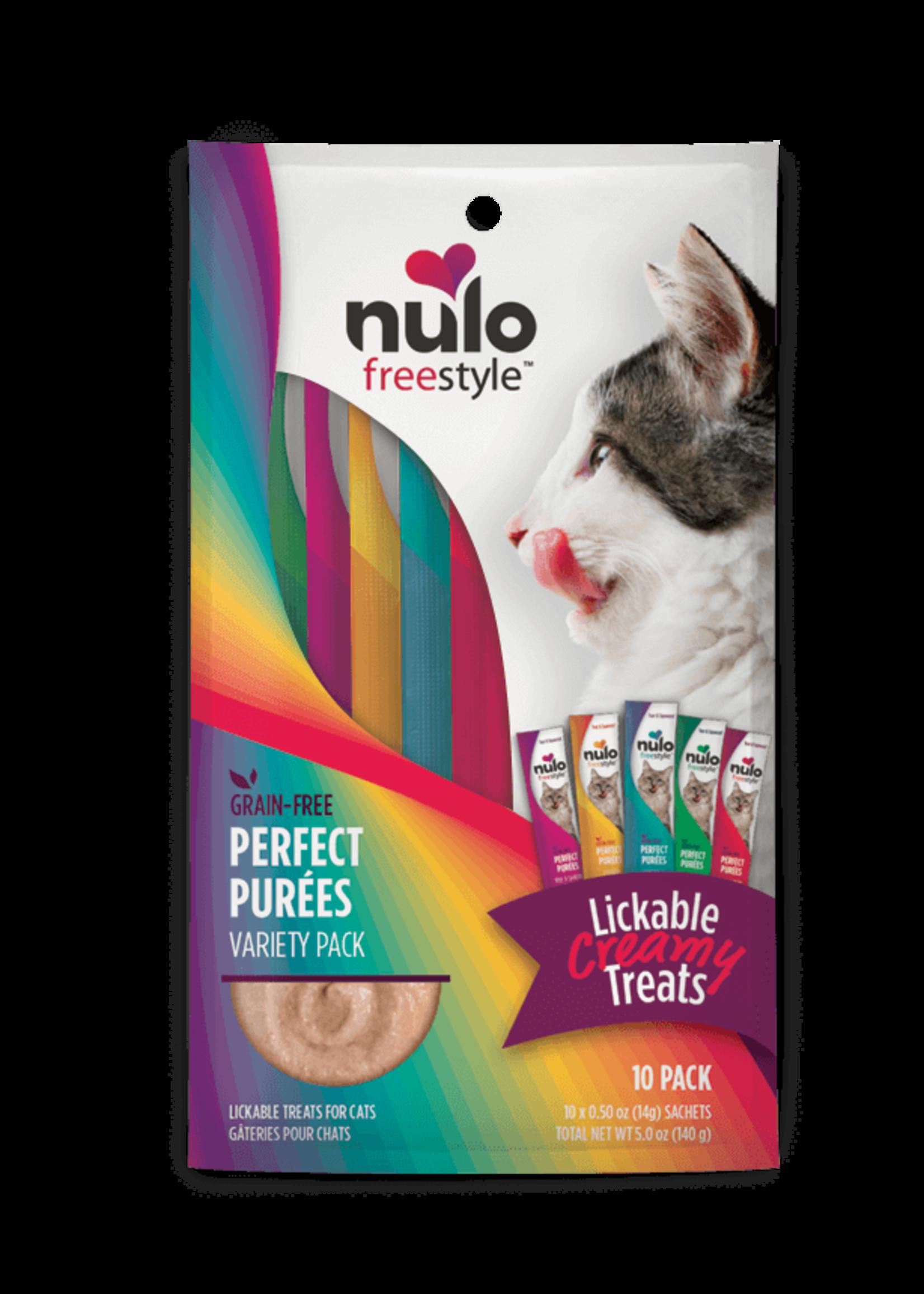 Nulo Nulo FreeStyle Cat Puree GF Variety 0.5oz 10 Pack