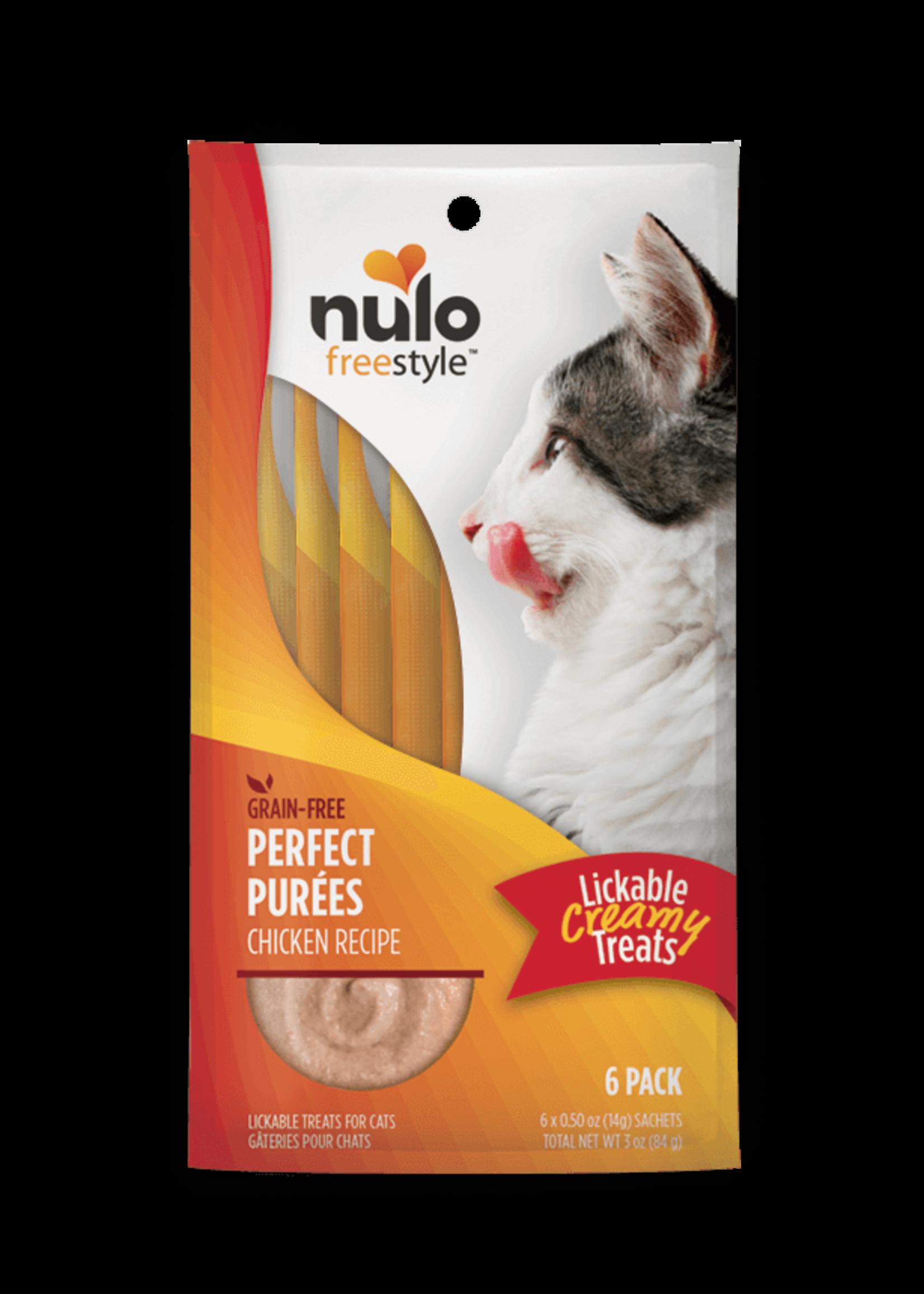 Nulo Nulo FreeStyle Cat Puree GF Chicken 0.5oz 6 Pack