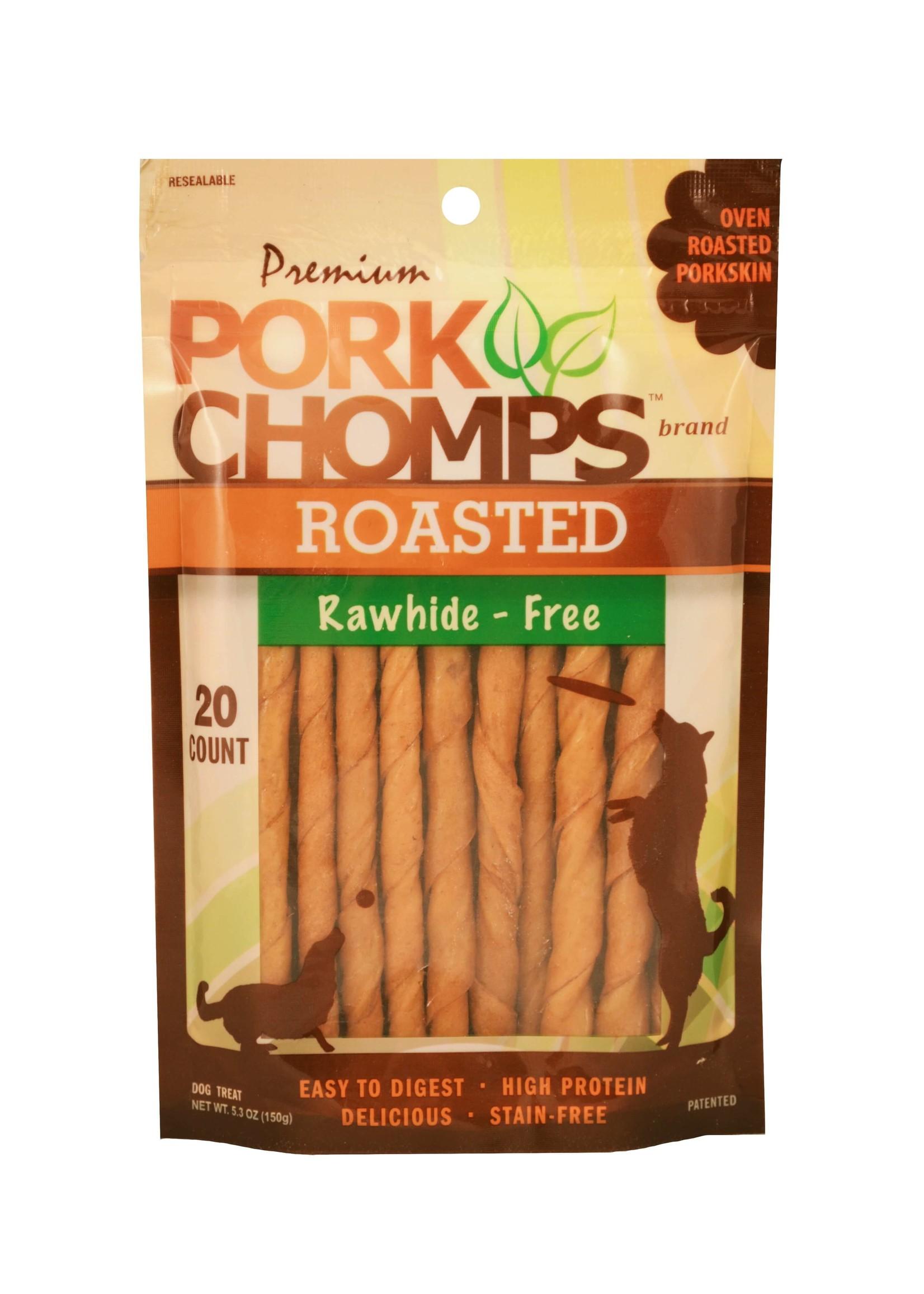 Pork Chomps Pork Chomps Roasted Mini Twists 20 ct