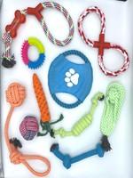 Dog Rope Toys, 10pc Set