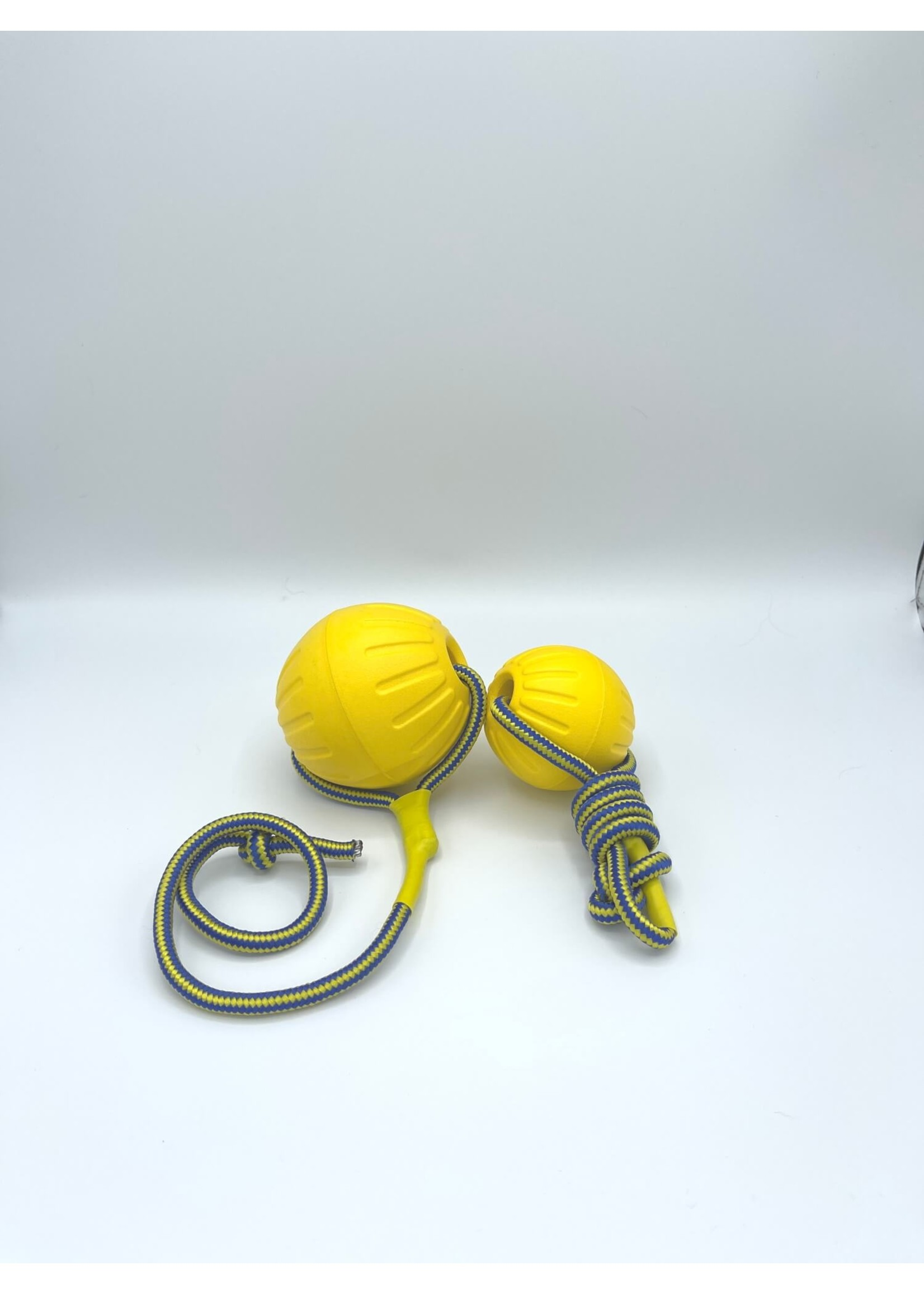 Dog Ball Toy Yellow Rope