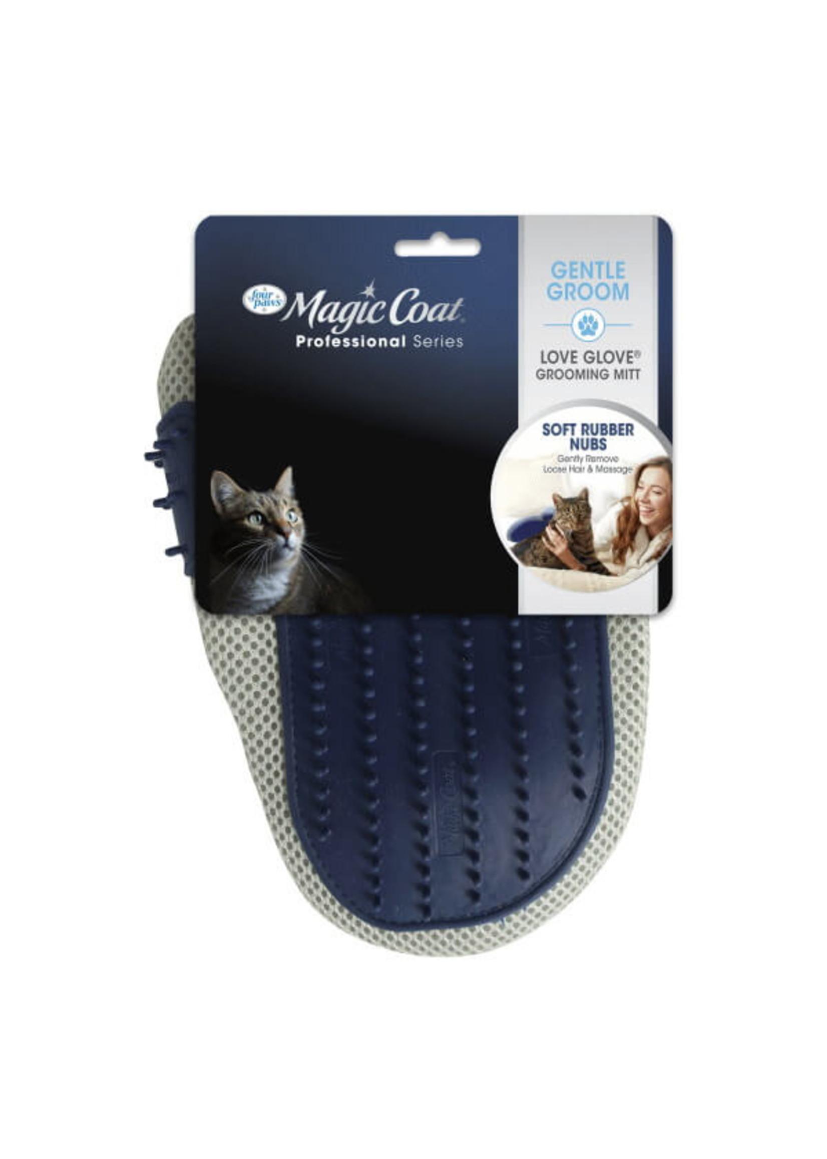 Magic Coat Love Glove Grooming Mitt For Cats