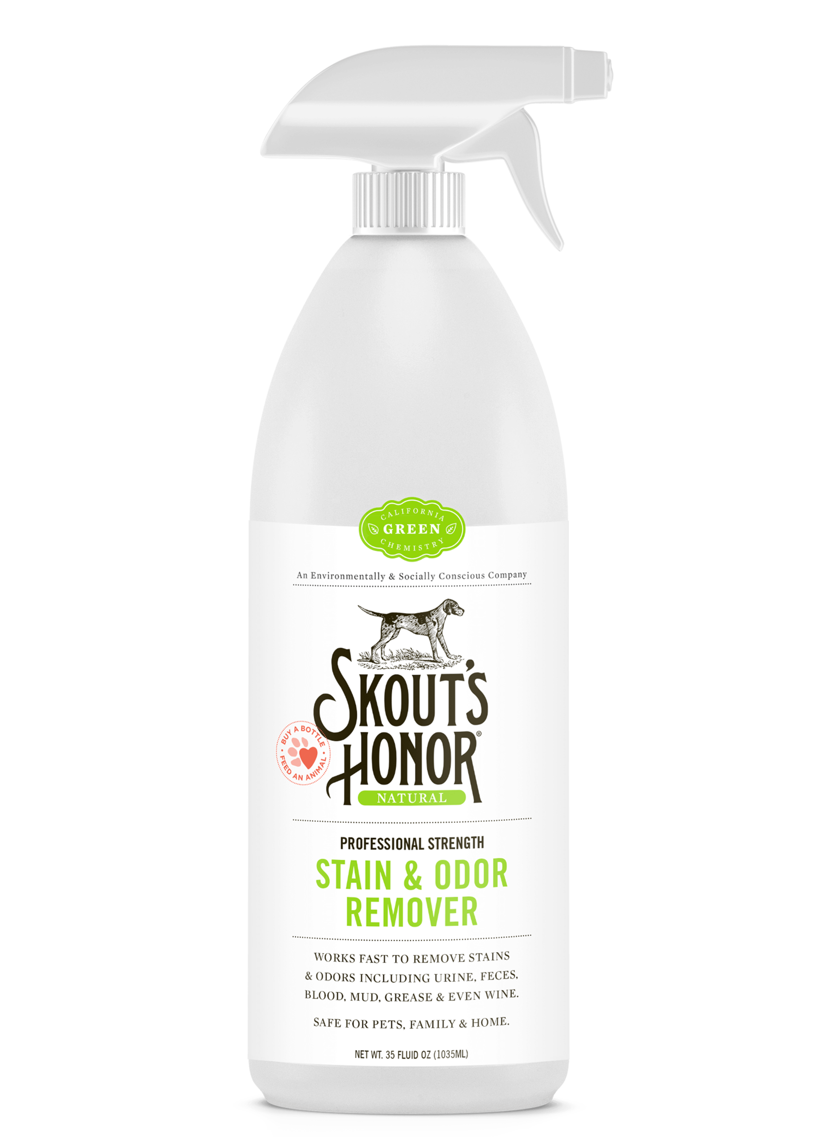 Skout's Honor Skout's Honor Stain and Odor Remover 35oz