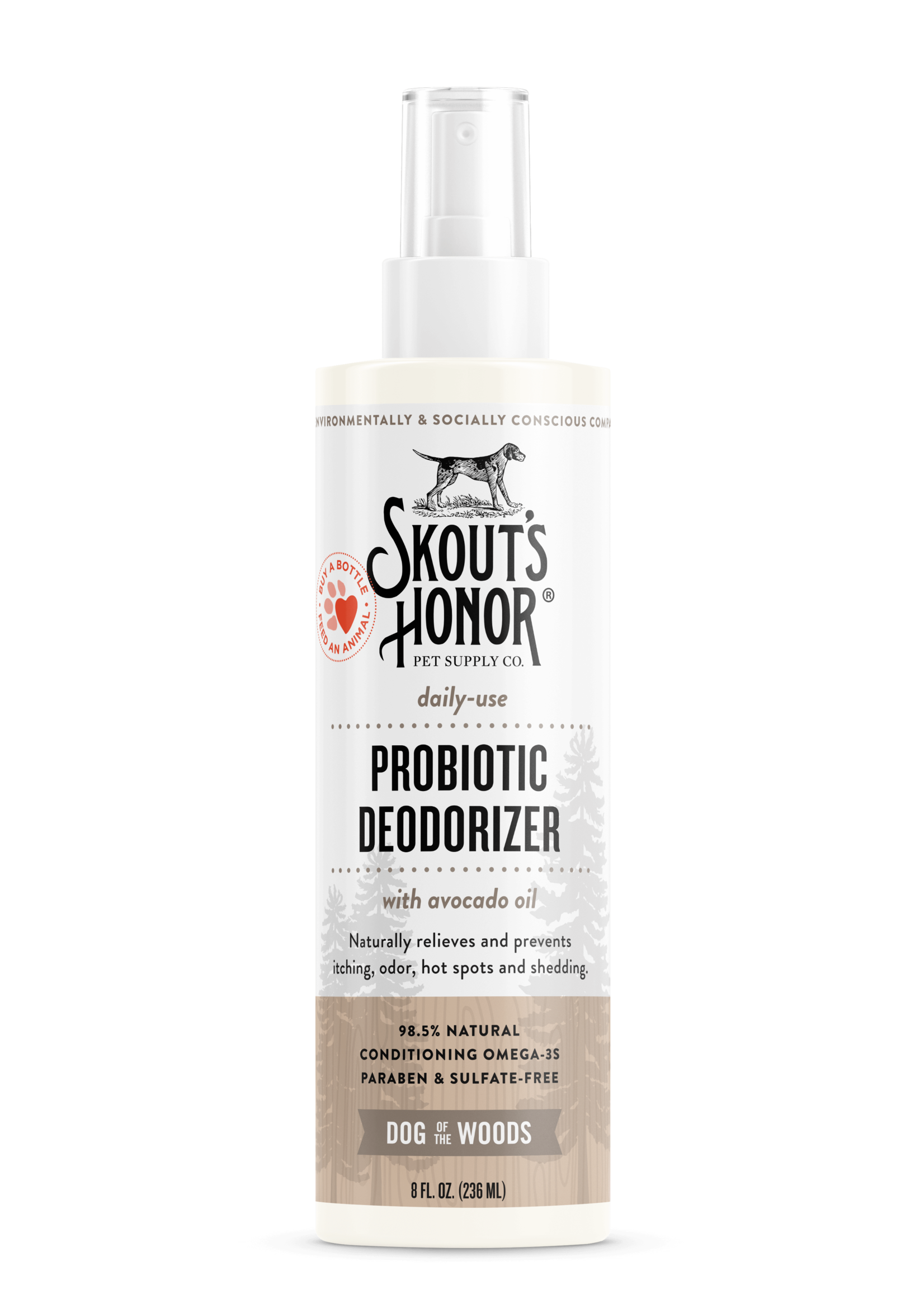 Skout's Honor Skout's Honor Probiotic Deodorizer Dog of the Woods