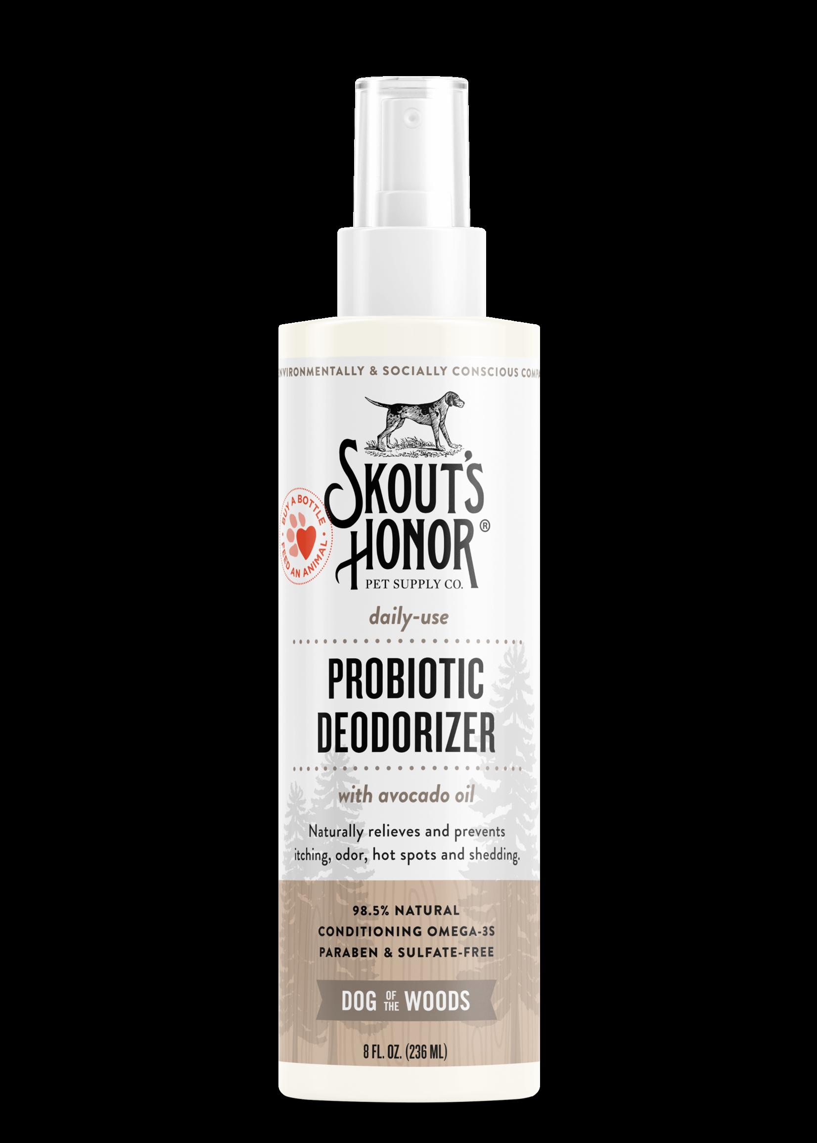Skout's Honor Skout's Honor Probiotic Deodorizer with Avacado Oil 8oz