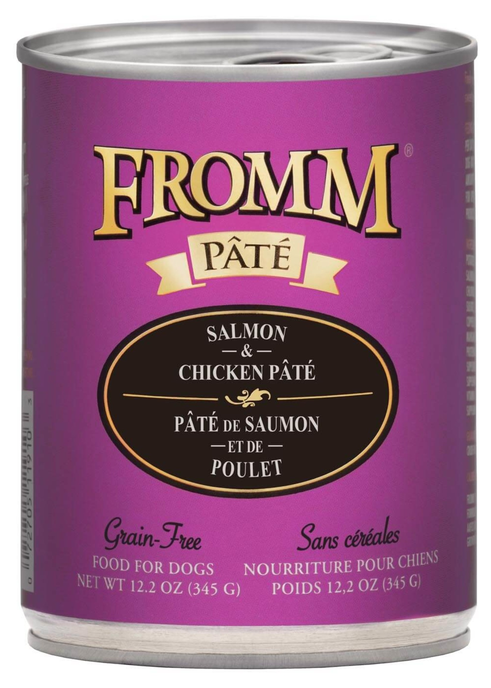 Fromm Fromm Dog GF Chicken & Salmon Pate, 12.2oz Can