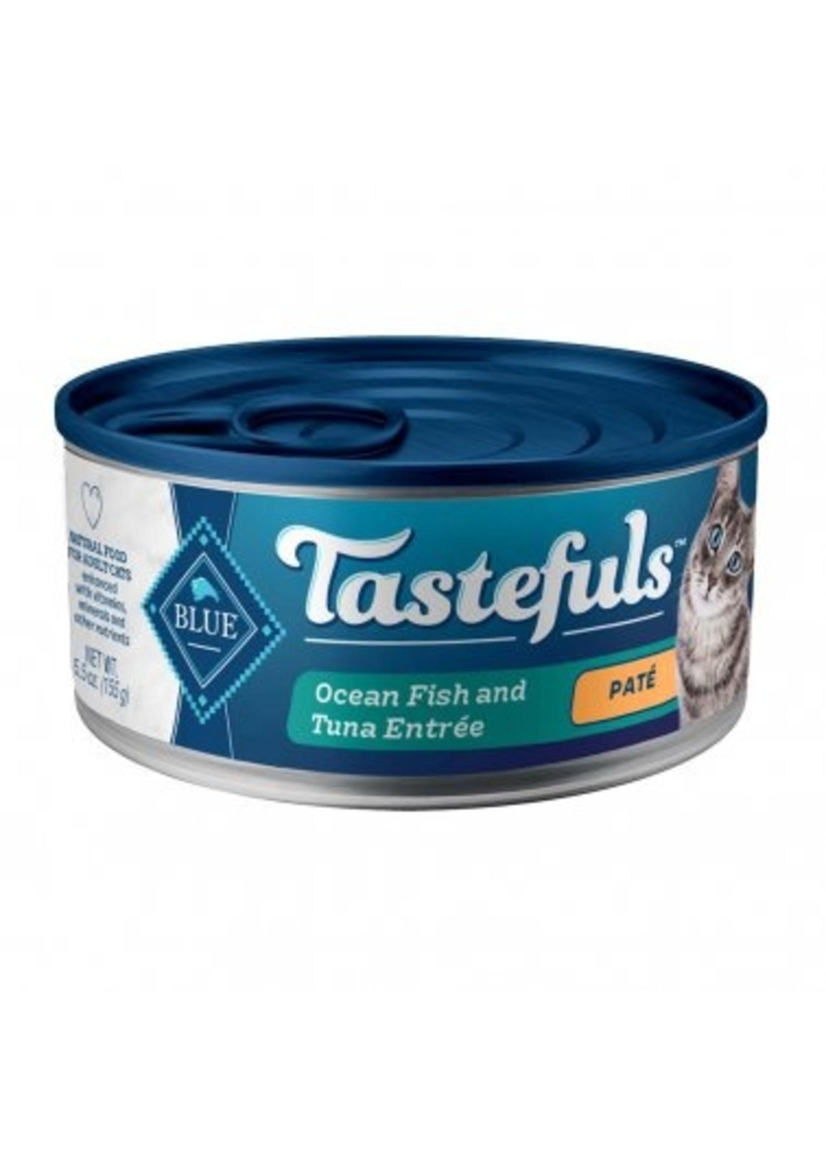Blue Buffalo Blue Buffalo Tastefuls Ocean Fish & Tuna Cat Food 5.5 Oz