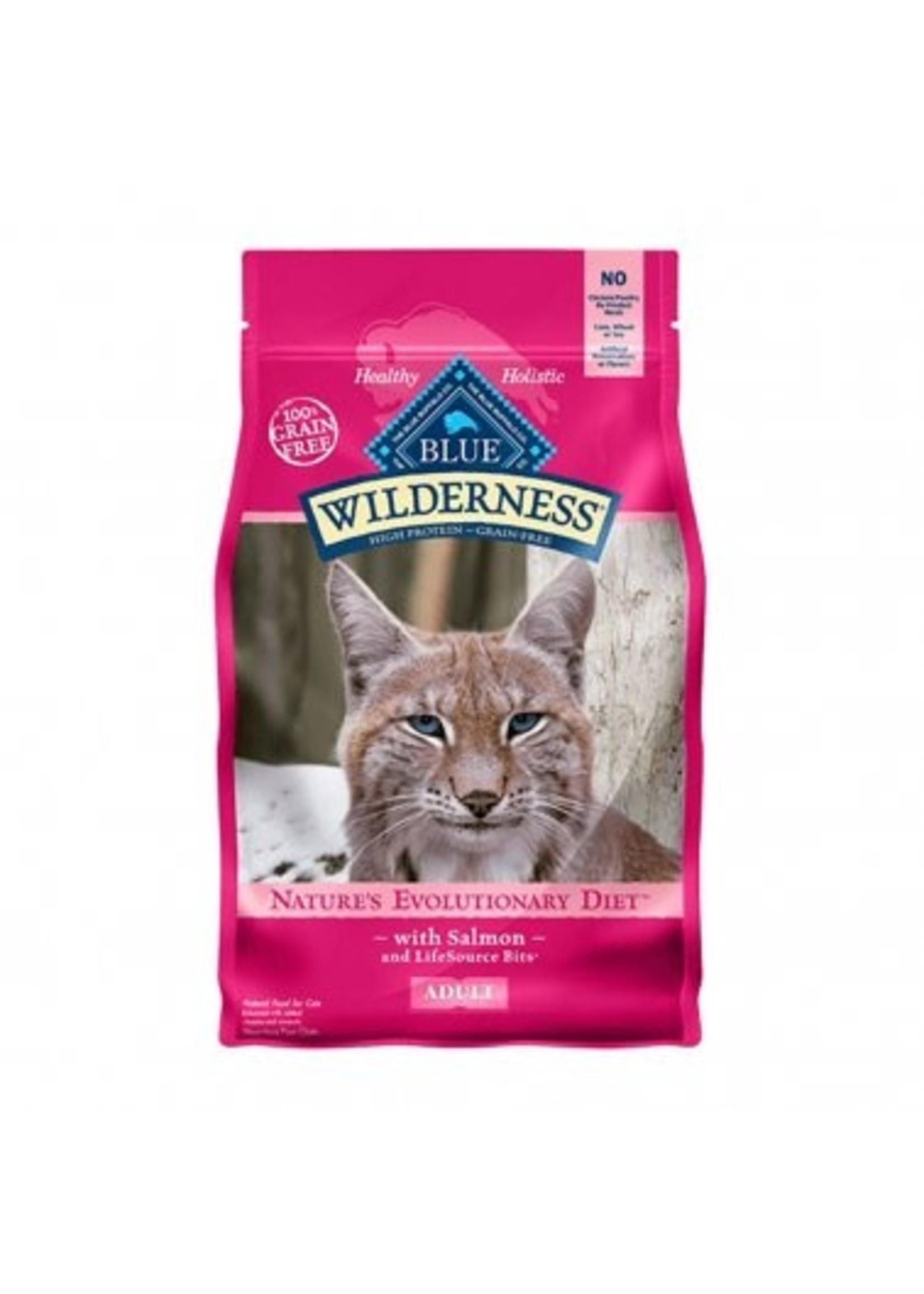 Blue Buffalo Blue Wilderness™ Nature's Evolutionary Diet with Salmon Grain Free Adult Cat Food 11 Lbs