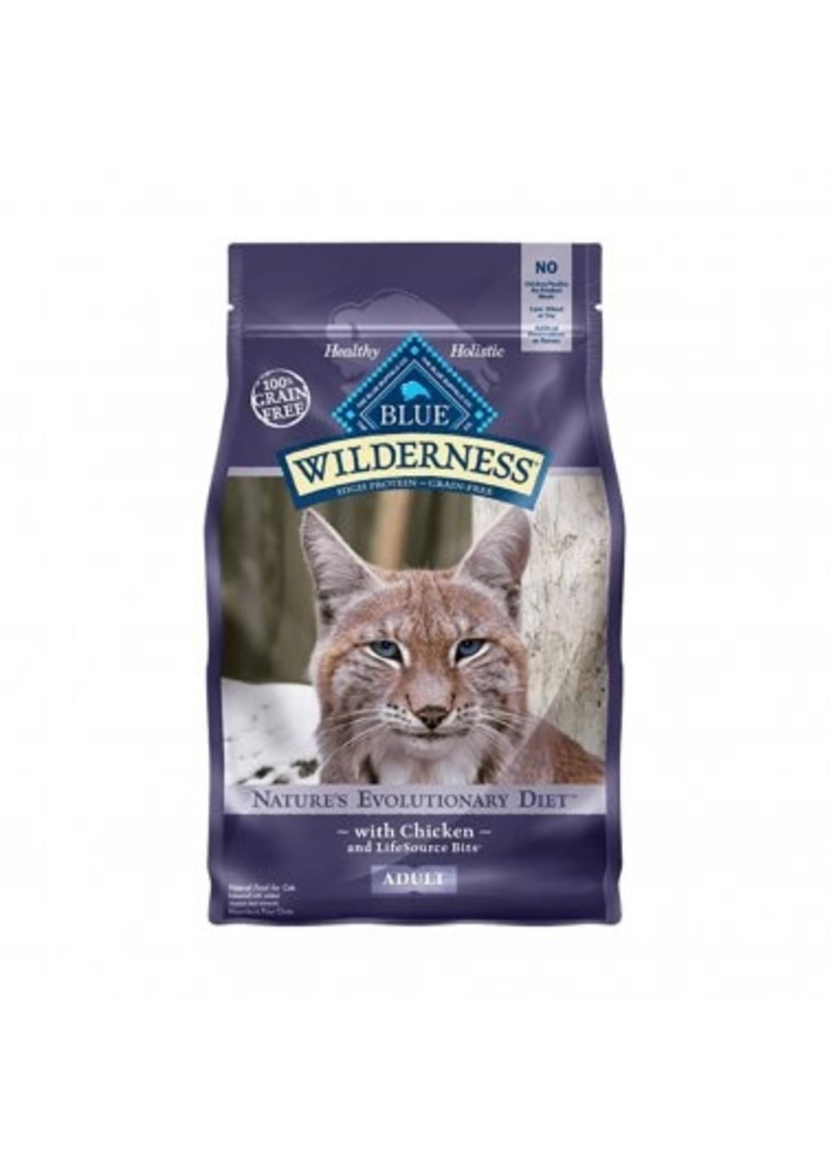 Blue Buffalo Blue Wilderness™ Nature's Evolutionary Diet Grain Free Chicken Adult Cat Food 12 Lbs