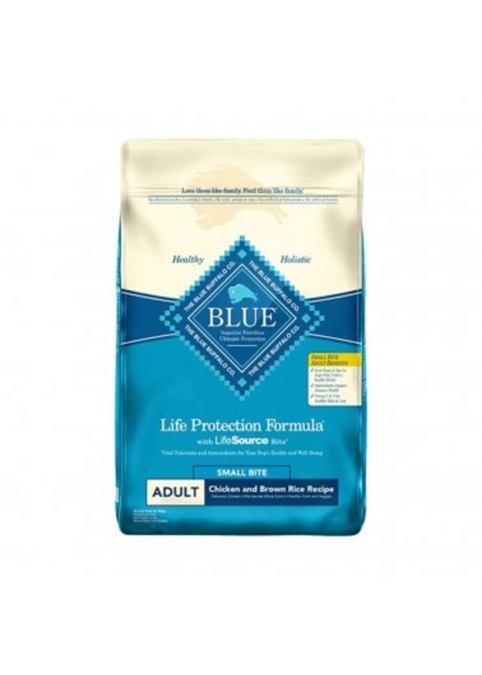 Blue Buffalo Blue Life Protection Formula® Small Bite Chicken & Brown Rice Adult Dog Food 30 Lbs