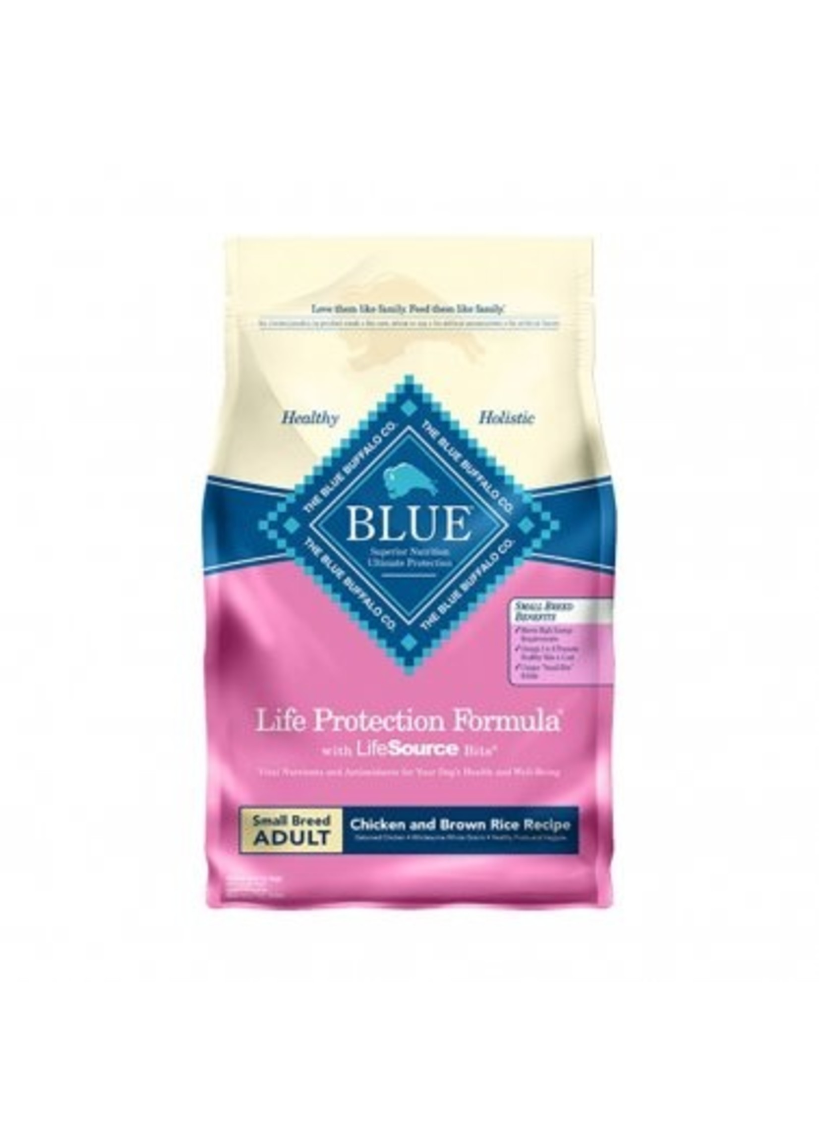 Blue Buffalo Blue Life Protection Formula® Chicken & Brown Rice Recipe Small Breed Adult Dog Food 15 Lbs