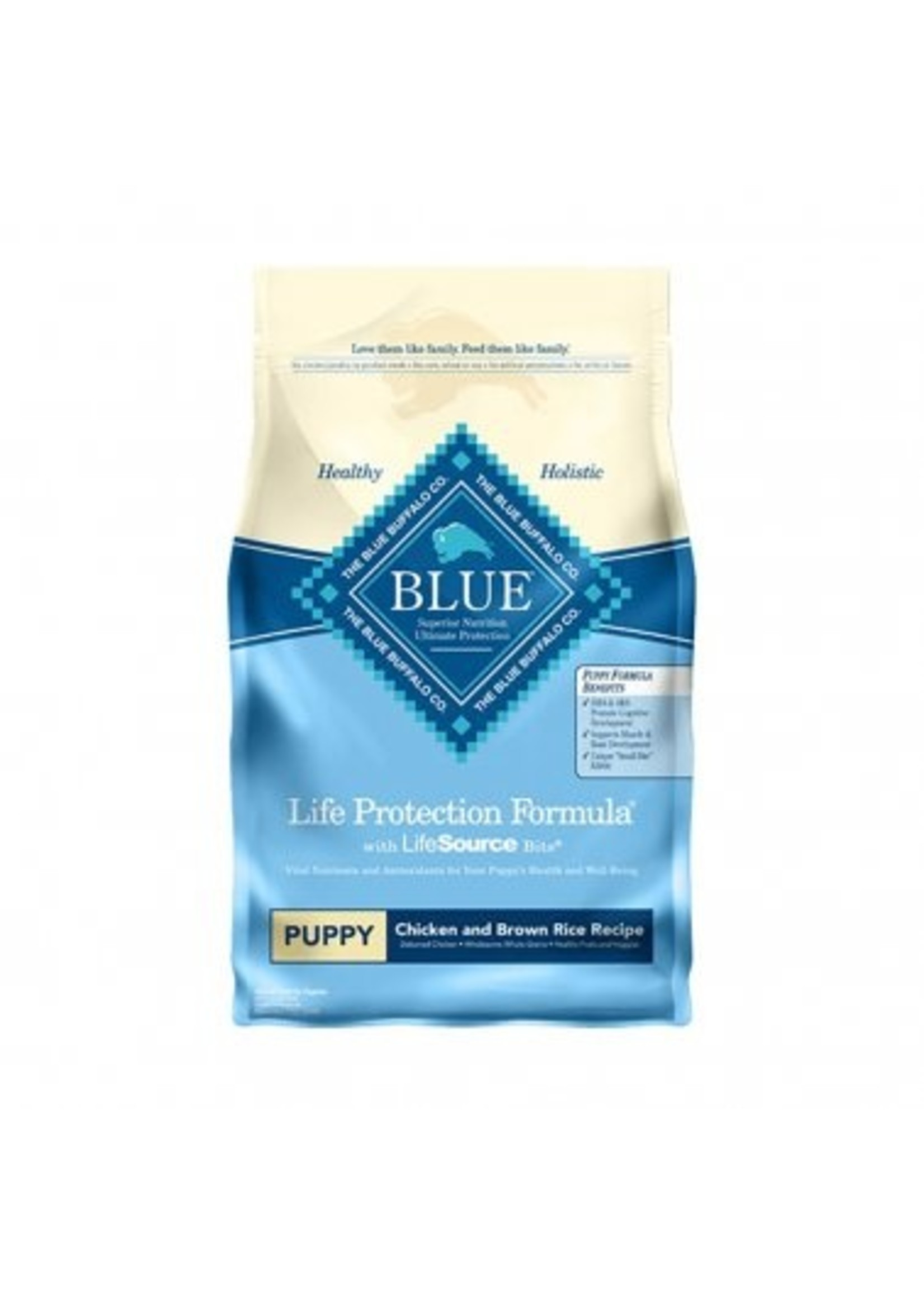 Blue Buffalo Blue Life Protection Formula® Chicken & Brown Rice Recipe Puppy Dog Food 30 Lbs