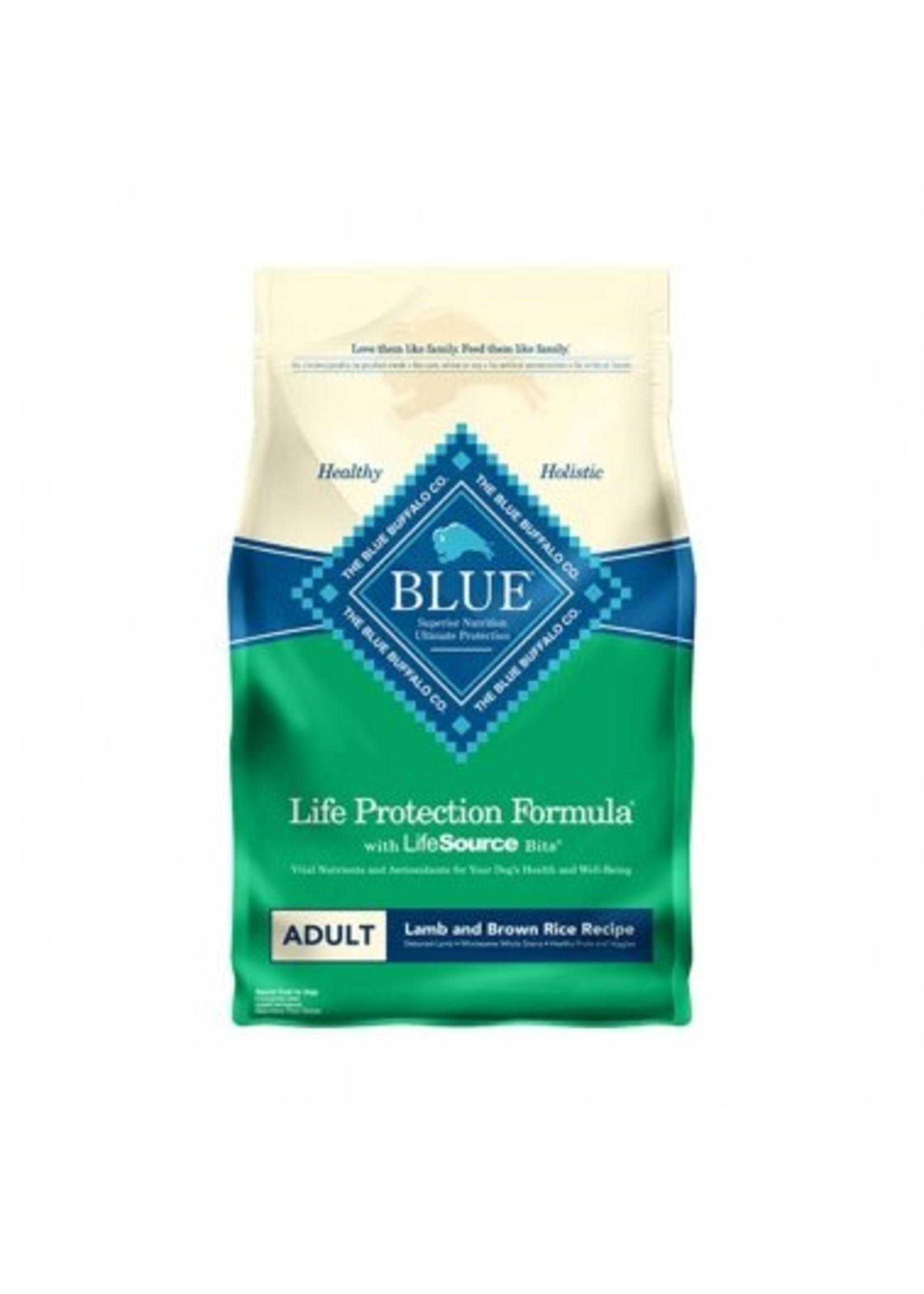 Blue Buffalo Blue Life Protection Formula® Lamb & Brown Rice Recipe Adult Dog Food 30 Lbs