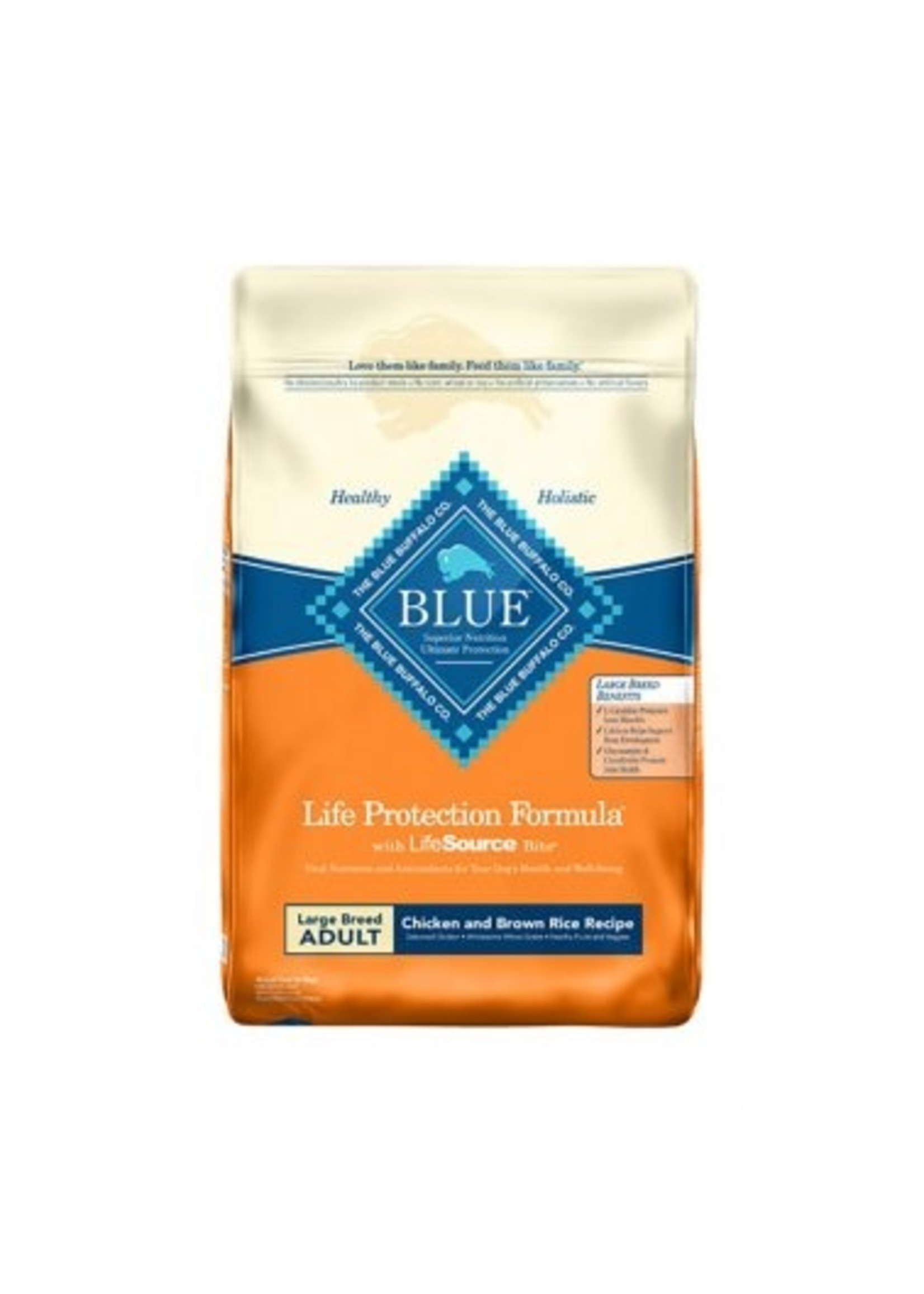 Blue Buffalo Blue Life Protection Formula® Chicken & Brown Rice Recipe Large Breed Adult Dog Food 15 Lbs