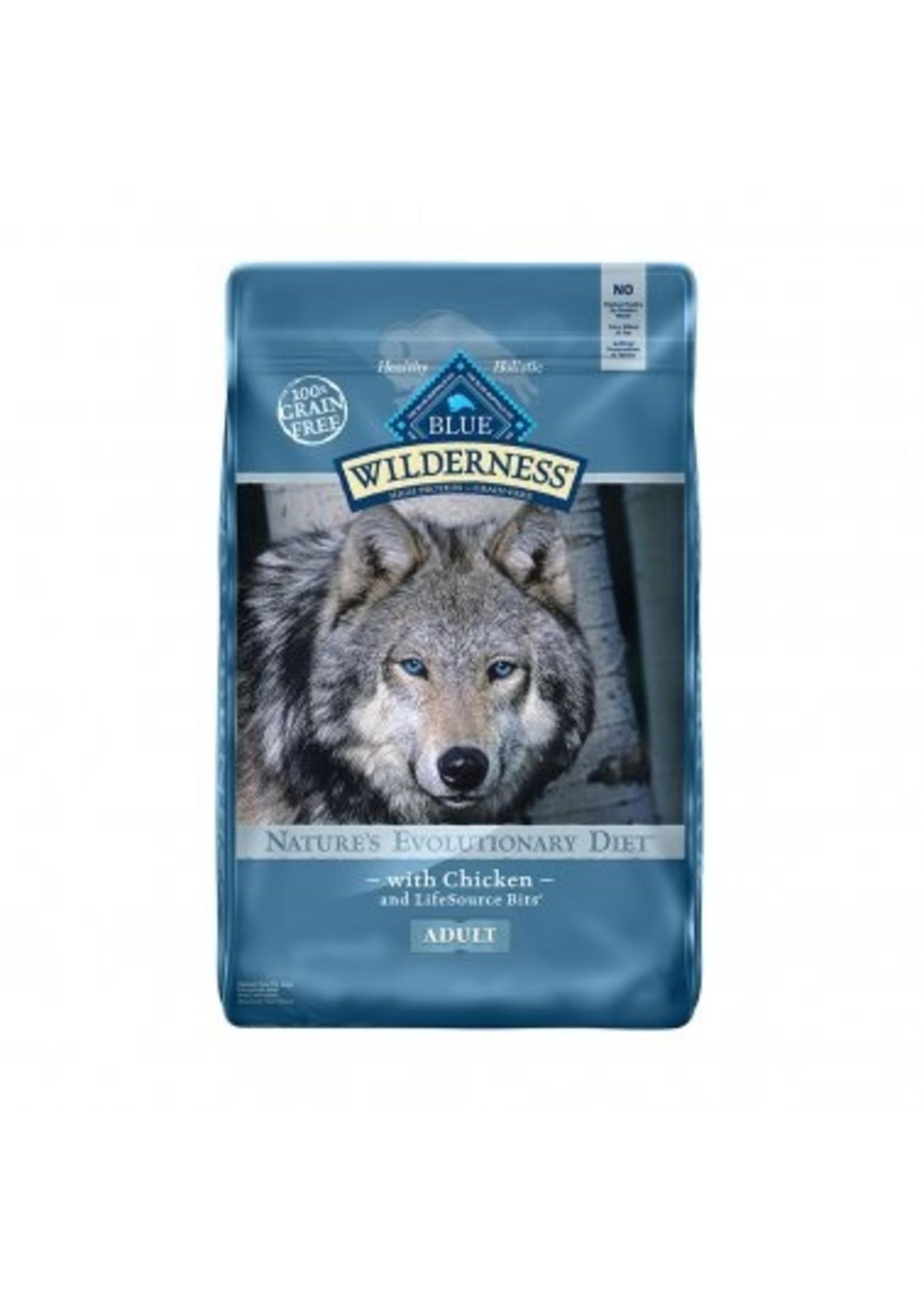Blue Buffalo Blue Wilderness™ Nature's Evolutionary Diet Grain Free Chicken Adult Dog Food 11 Lbs