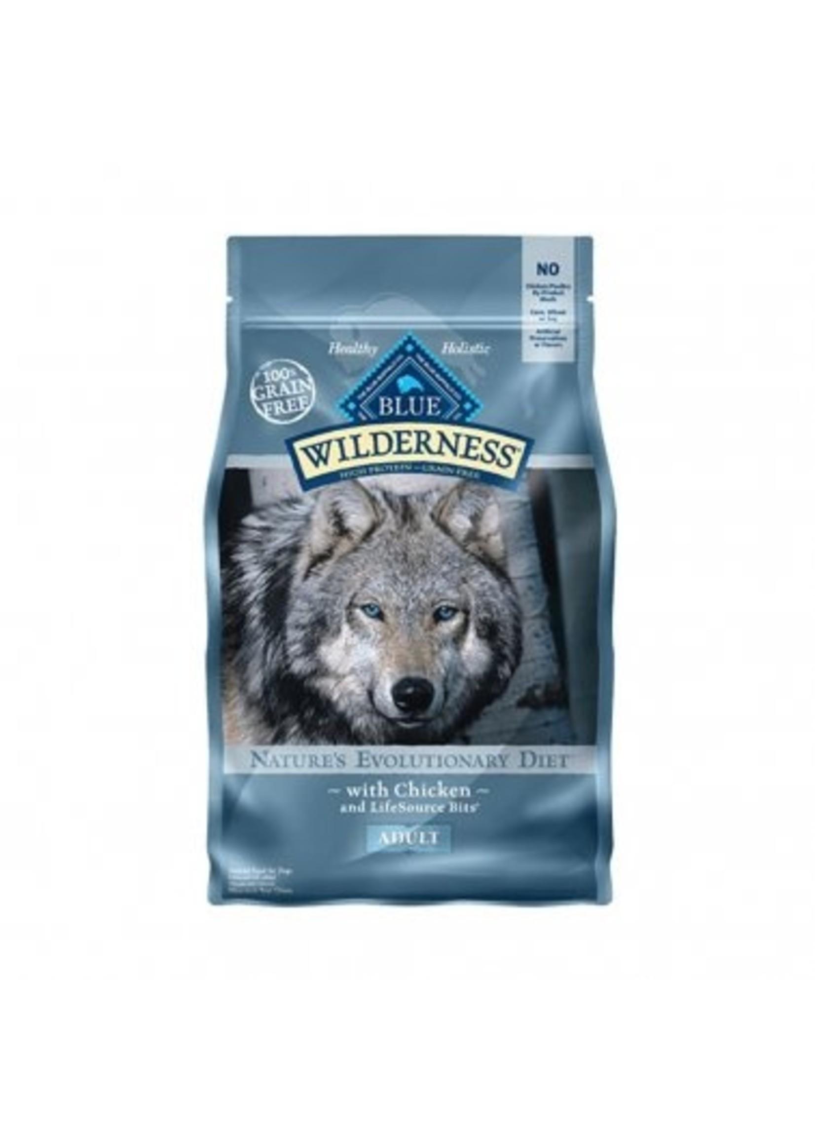 Blue Buffalo Blue Wilderness™ Nature's Evolutionary Diet Grain Free Chicken Adult Dog Food 24 Lbs