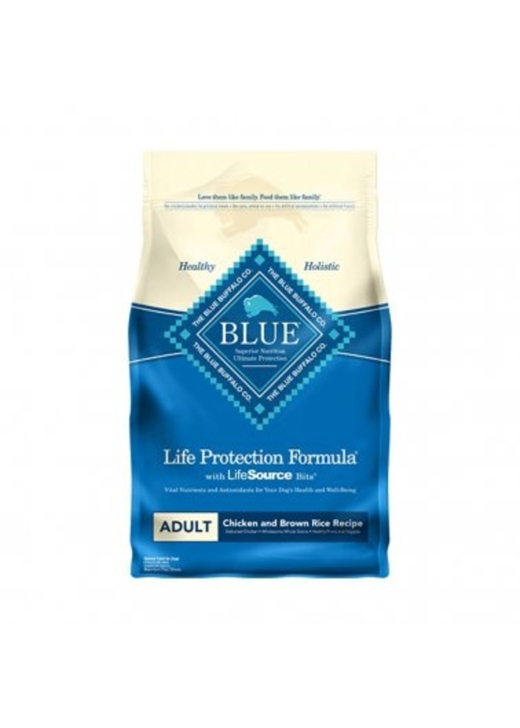 Blue Buffalo Blue Life Protection Formula® Chicken & Brown Rice Recipe Adult Dog Food 15 Lbs
