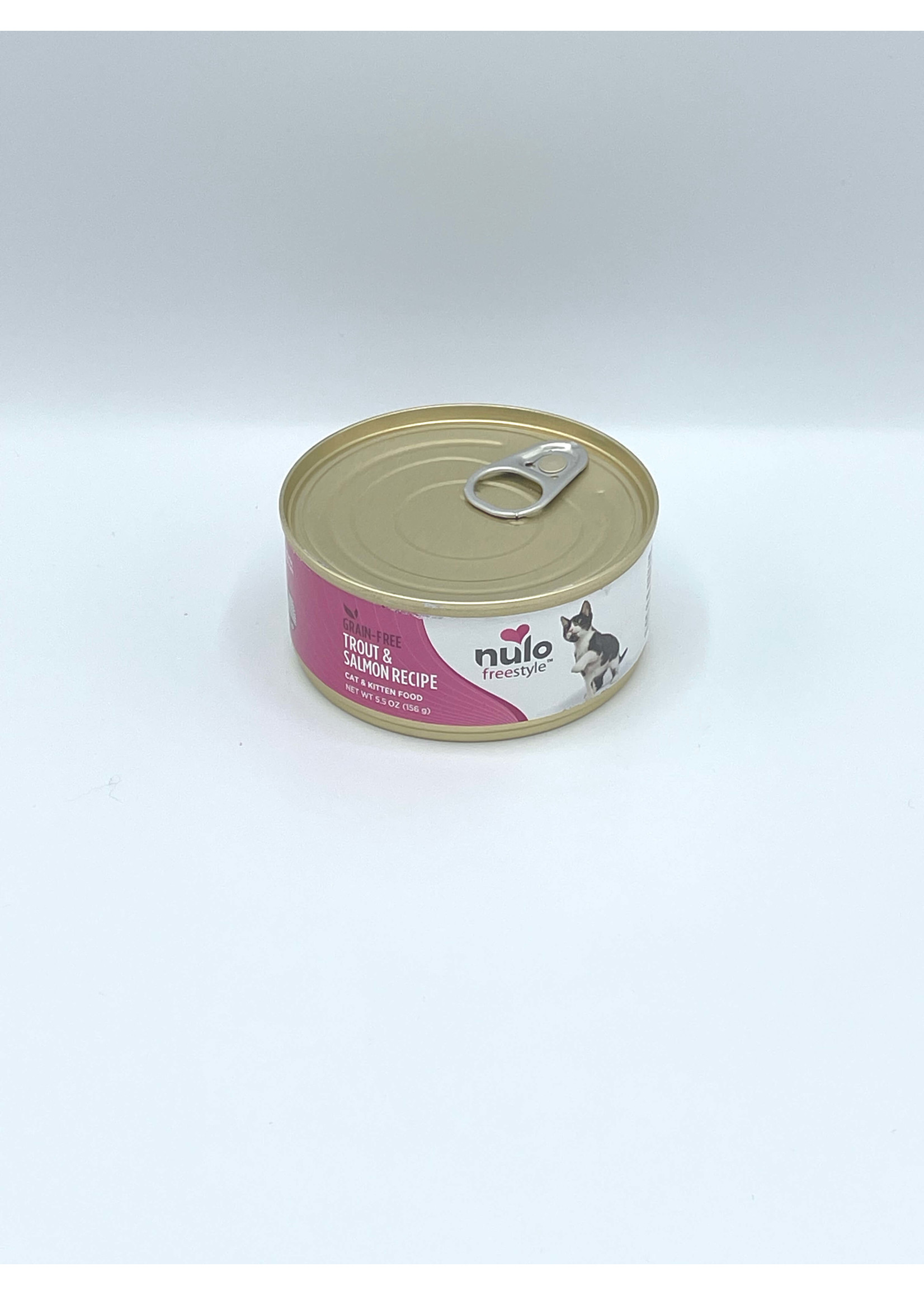 Nulo Nulo FreeStyle Grain Free Cat Trout & Salmon, 5.5oz Can