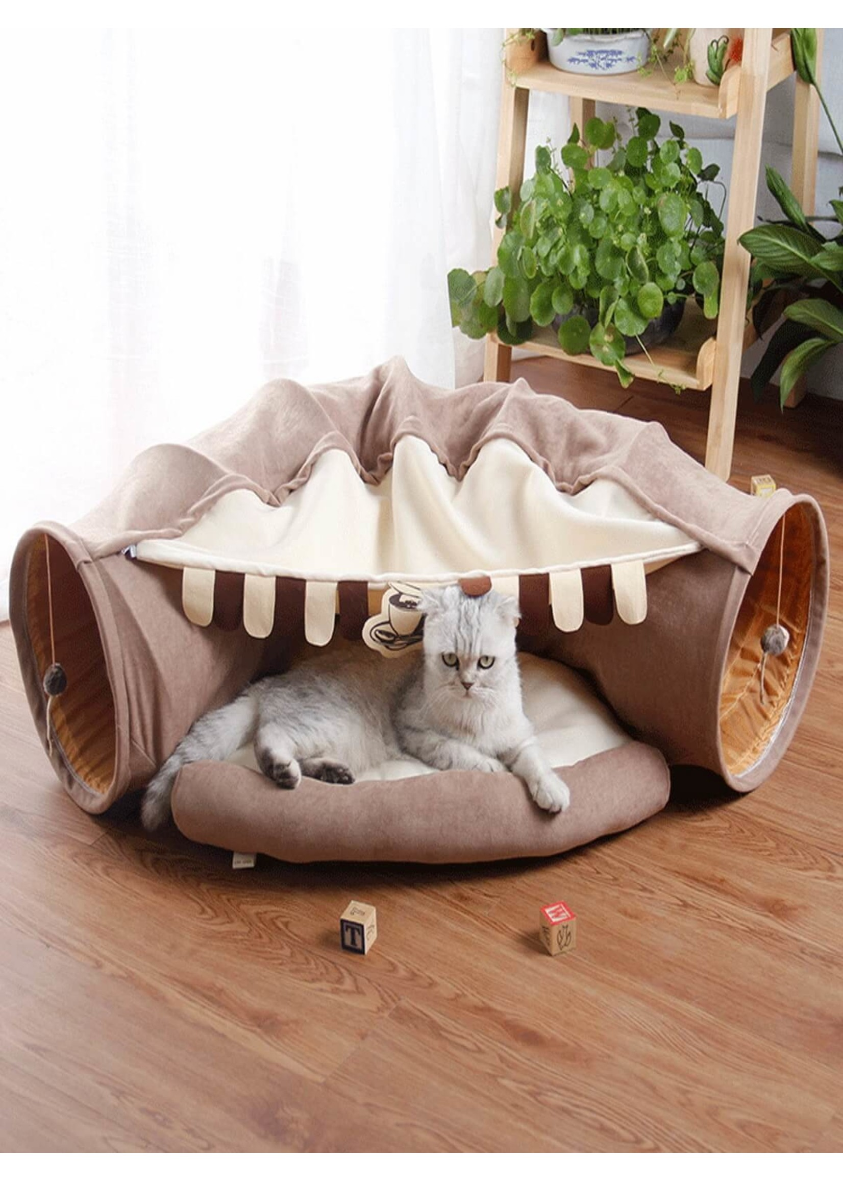 Cat Tunnel  Rabbit Tunnel  Pet Bed Toy