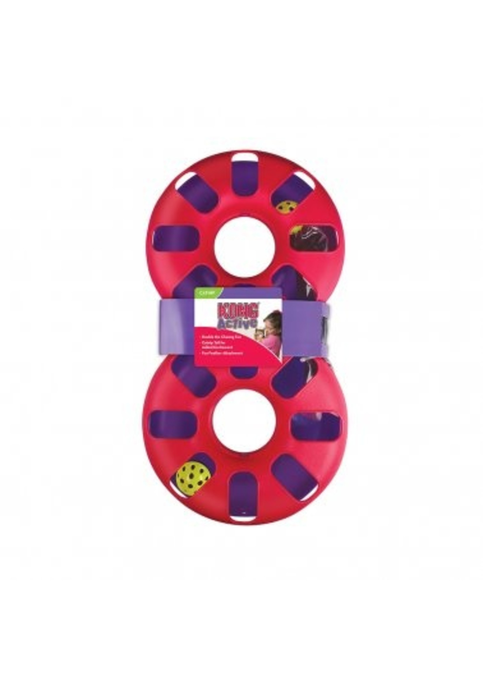 Kong Kong Cat Active Eight Track Cat Toy