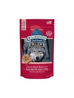 Blue Buffalo Blue Wilderness Grain Free Natural Crunchy Salmon Dog Biscuits
