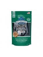 Blue Buffalo Blue Wilderness Grain Free Natural Crunchy Duck Dog Biscuits